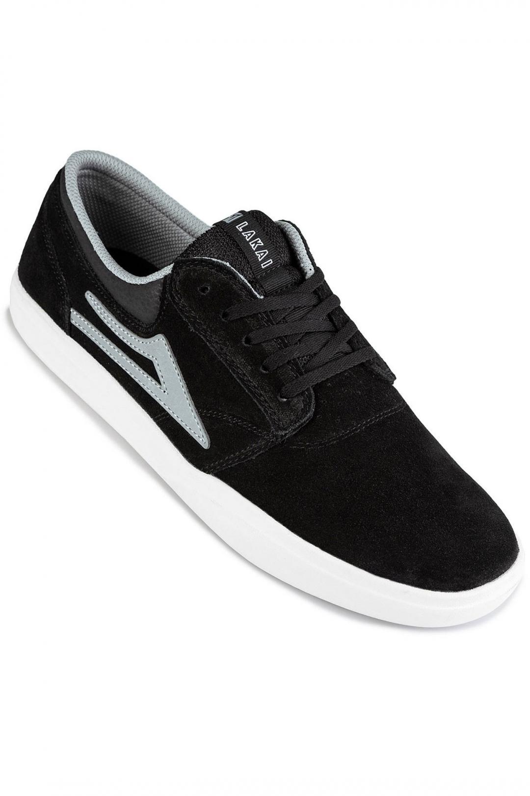 Uomo Lakai Griffin XLK Suede black grey | Sneakers low top