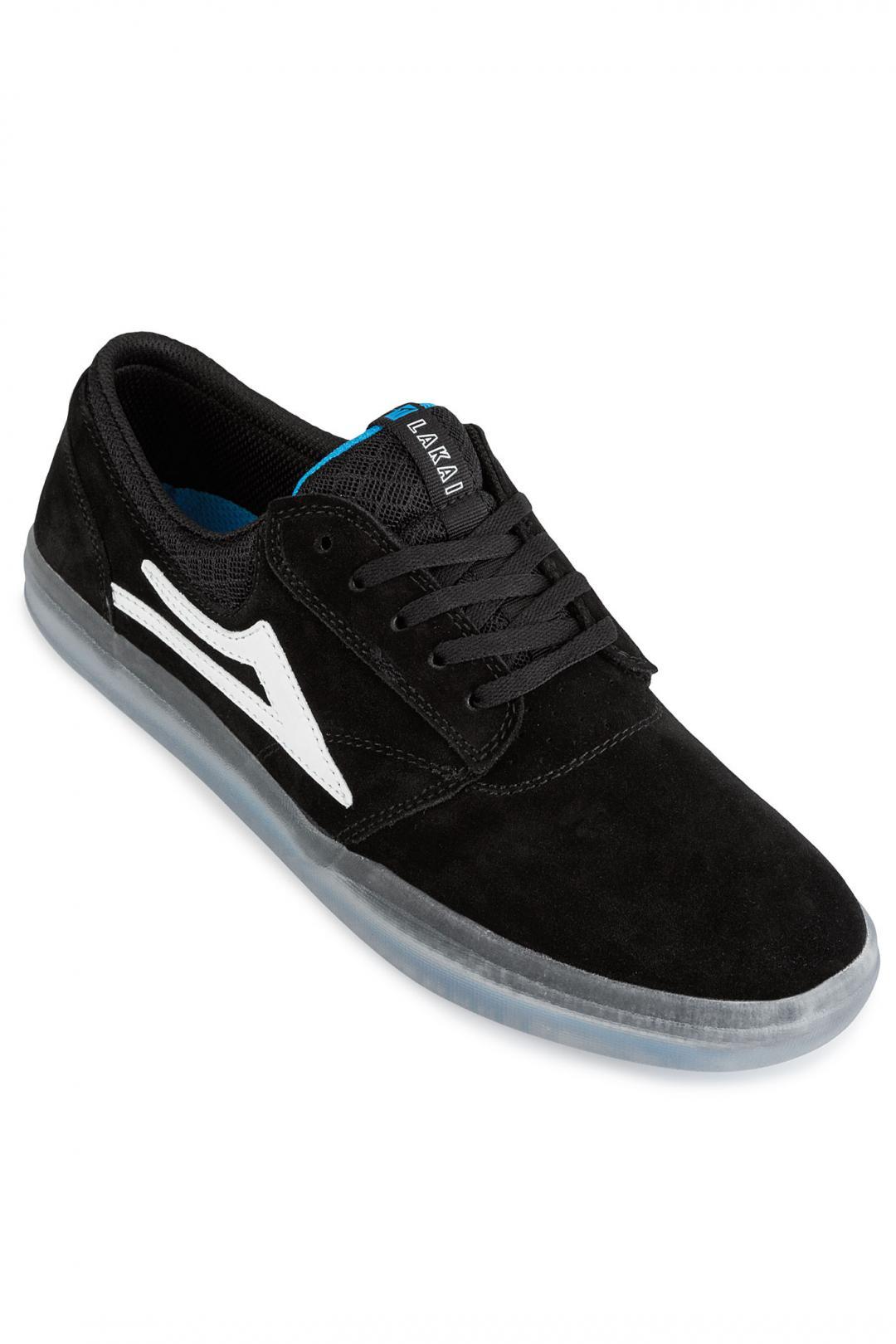 Uomo Lakai Griffin XLK Suede black | Sneakers low top