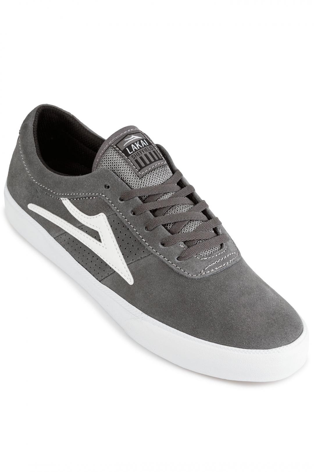 Uomo Lakai Sheffield grey | Sneakers low top