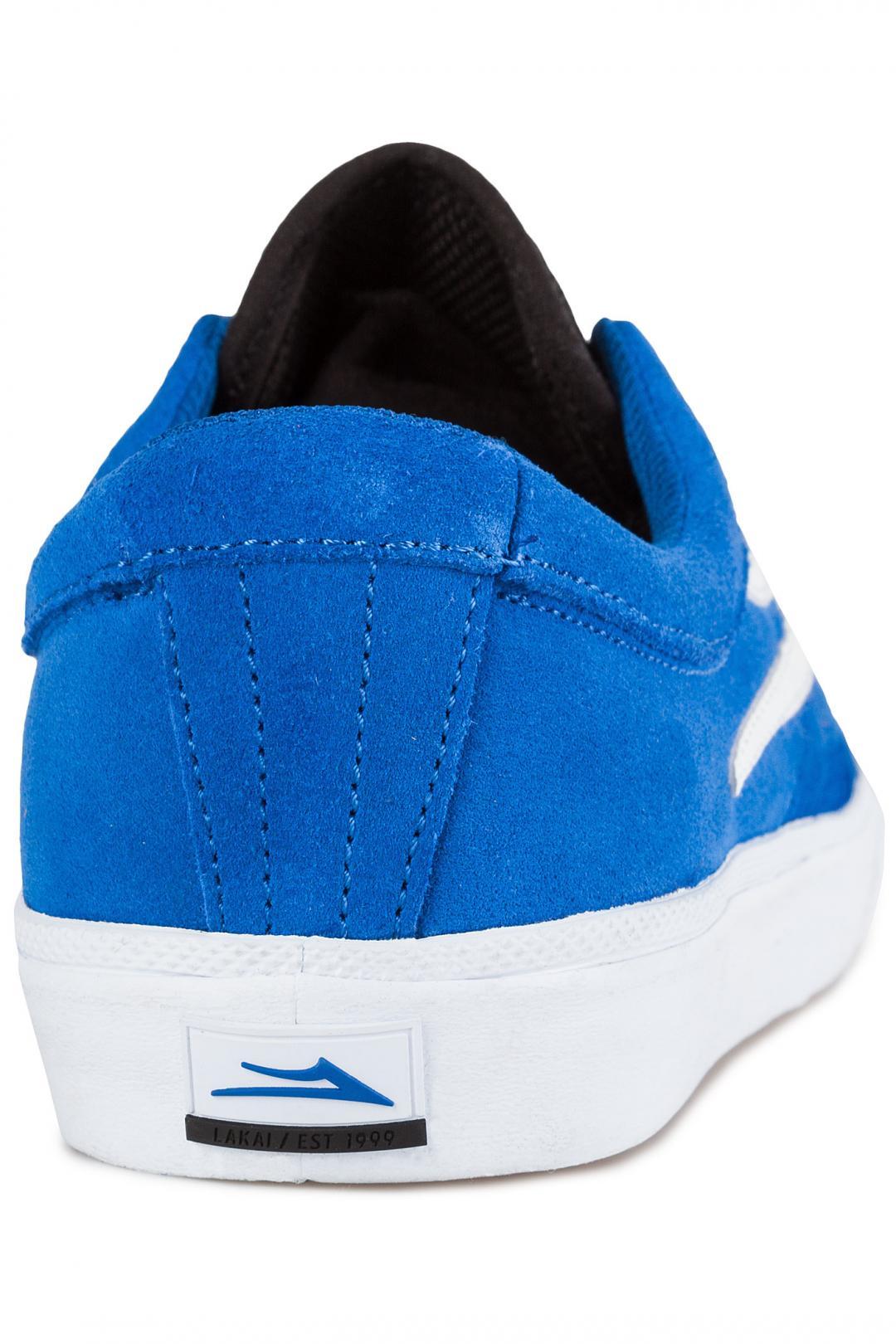 Uomo Lakai Sheffield Suede blue | Sneakers low top