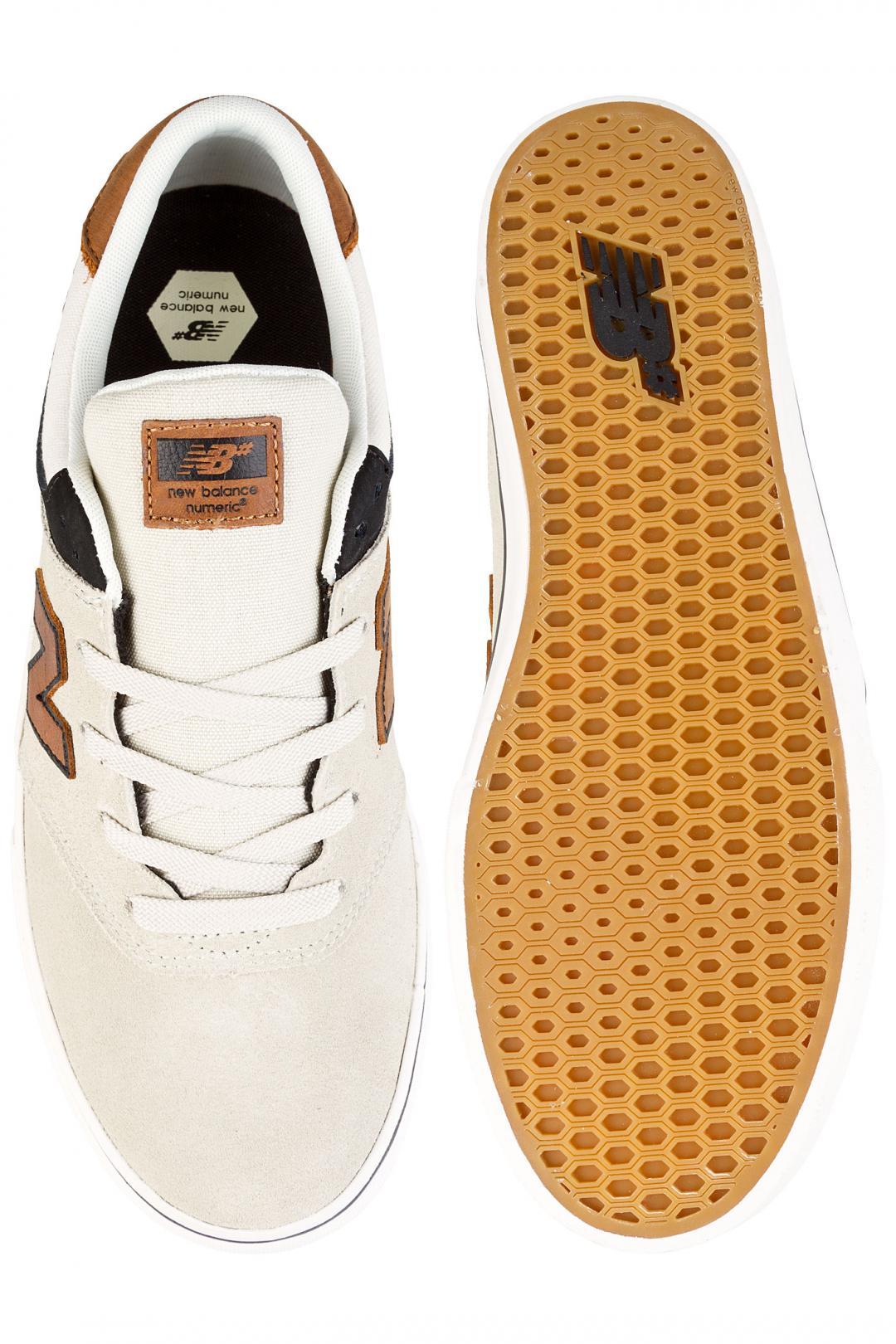 Uomo New Balance Numeric 254 stone black tan   Sneakers low top