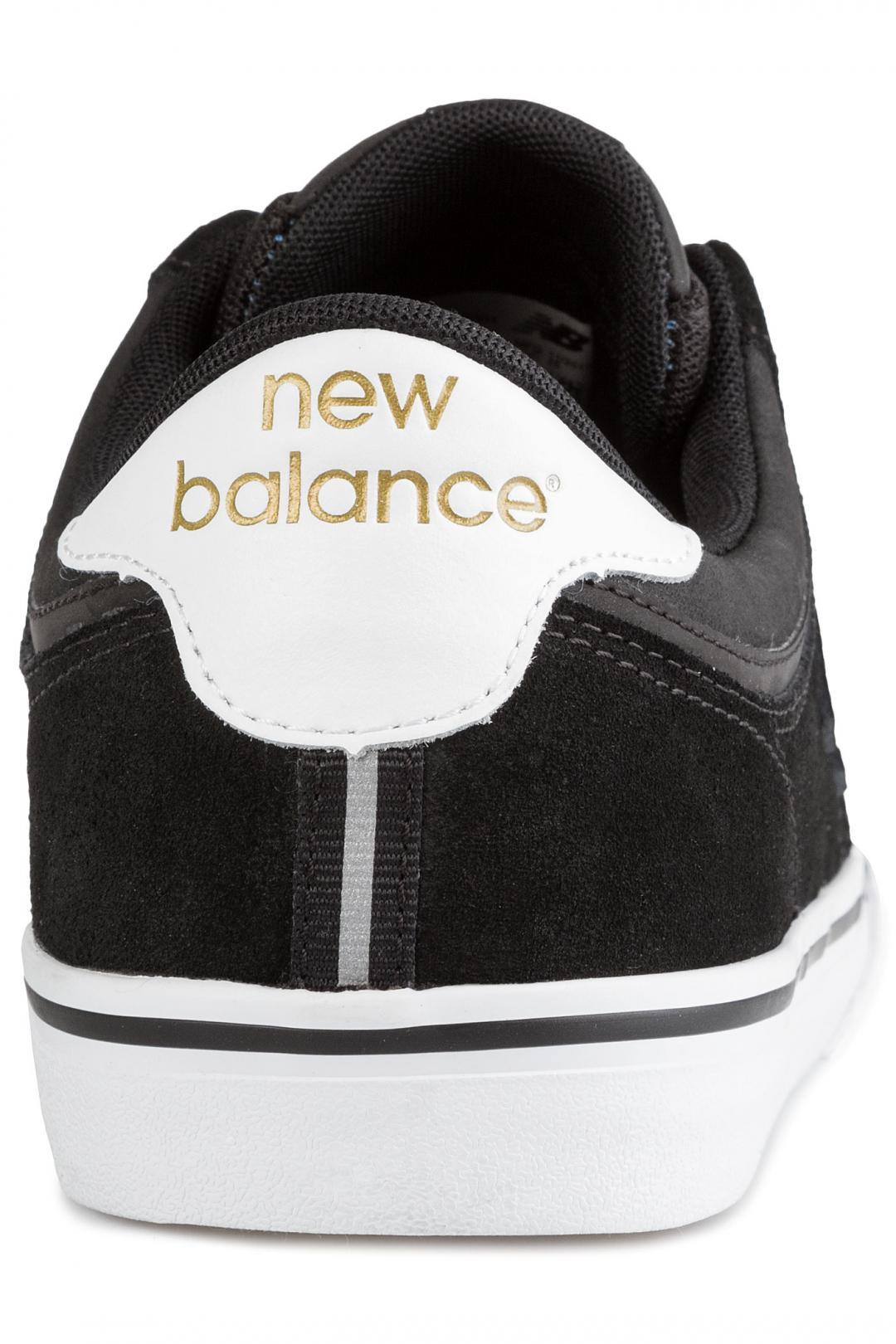 Uomo New Balance Numeric 255 black white | Sneakers low top