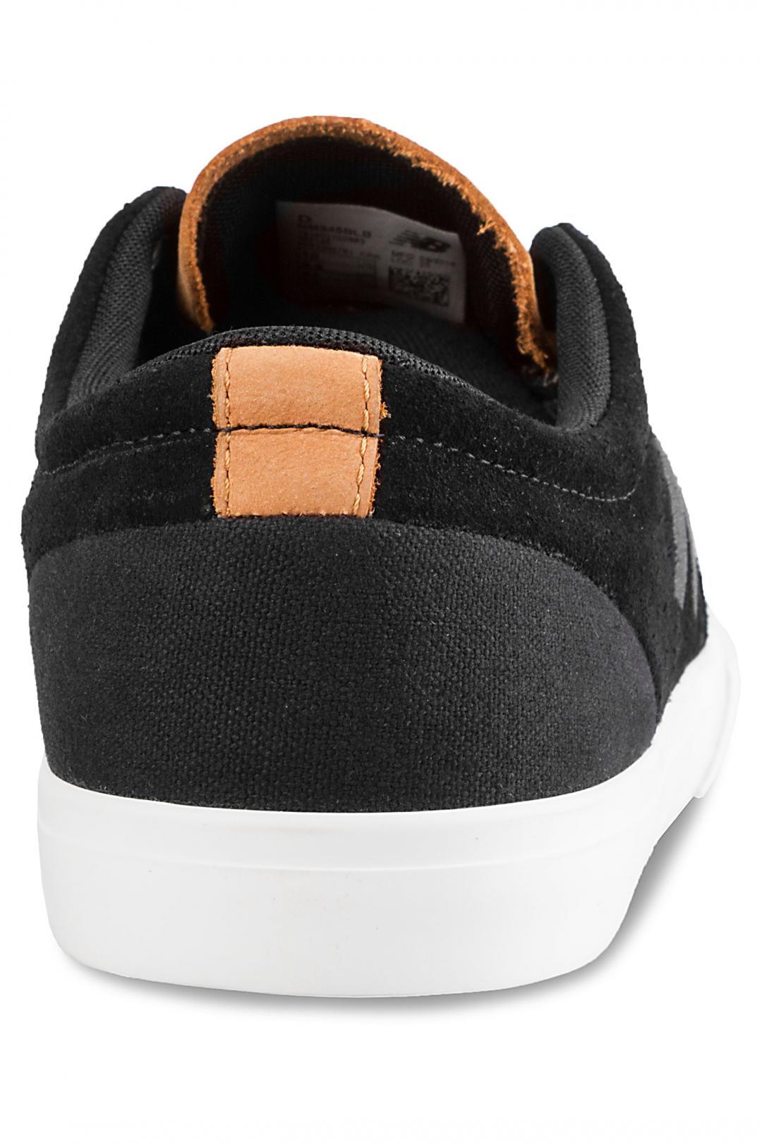 Uomo New Balance Numeric 345 black white brown | Sneaker