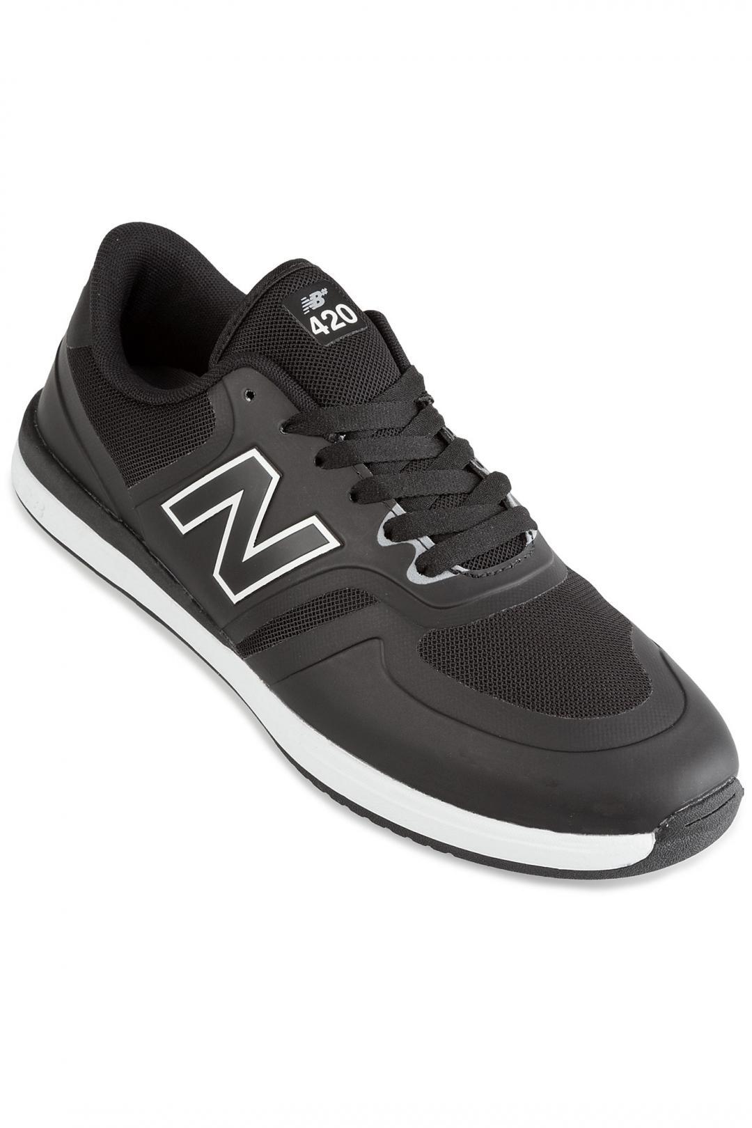 Uomo New Balance Numeric 420 black white | Sneakers low top