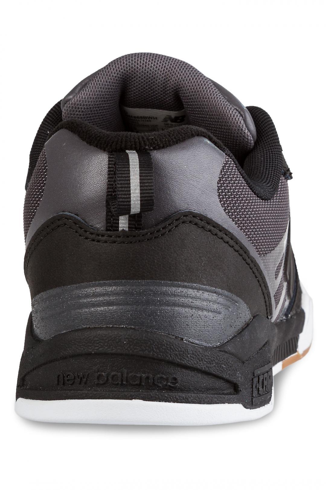 Uomo New Balance Numeric 868 black grey   Scarpe da skate