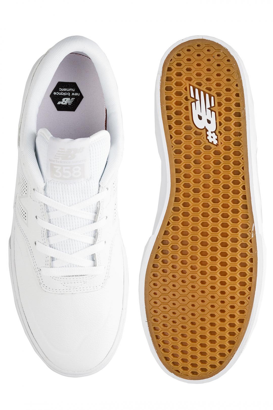 Uomo New Balance Numeric Arto 358 white | Sneaker