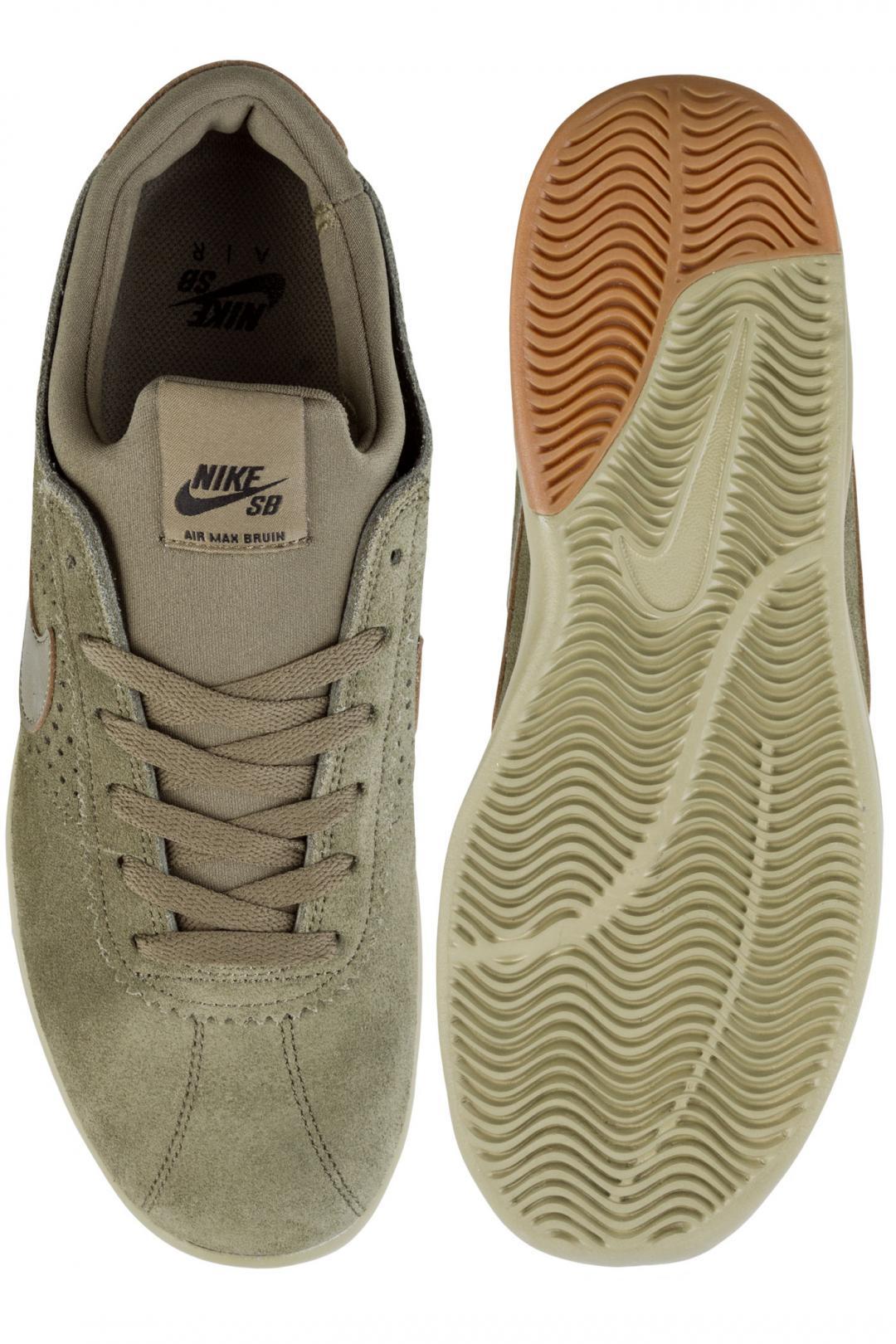 Uomo Nike SB Air Max Bruin Vapor medium olive   Sneakers low top
