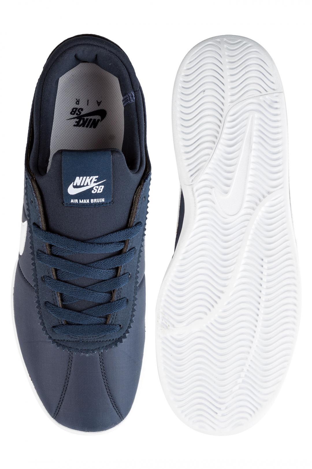 Uomo Nike SB Air Max Bruin Vapor Textile obsidian white | Scarpe da skate