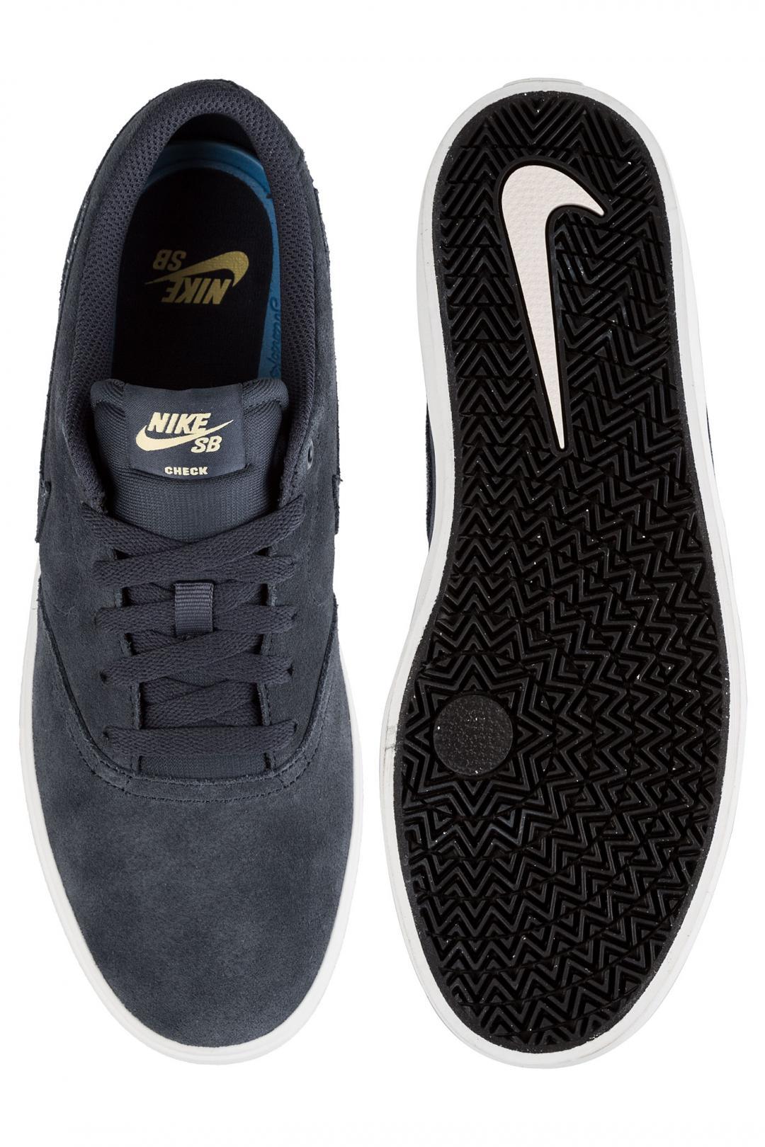 Uomo Nike SB Check Solarsoft thunder blue summit white | Scarpe da skate