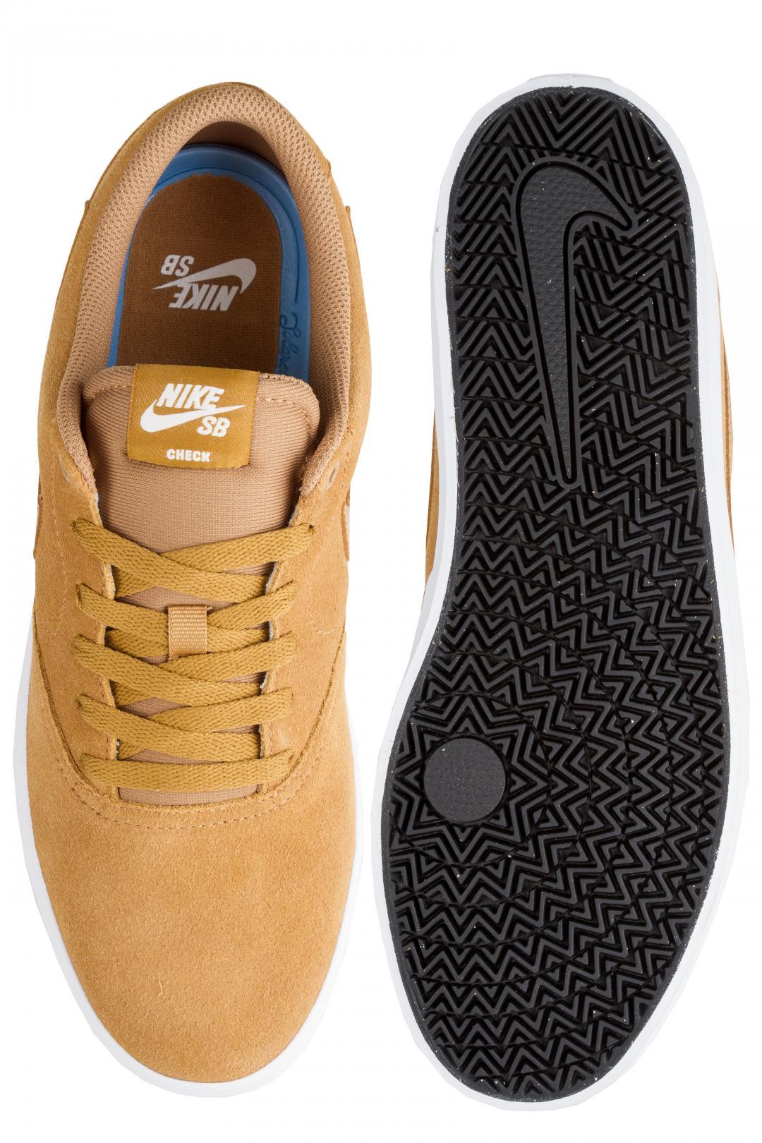 Uomo Nike SB Check Solarsoft wheat phantom | Sneakers low top