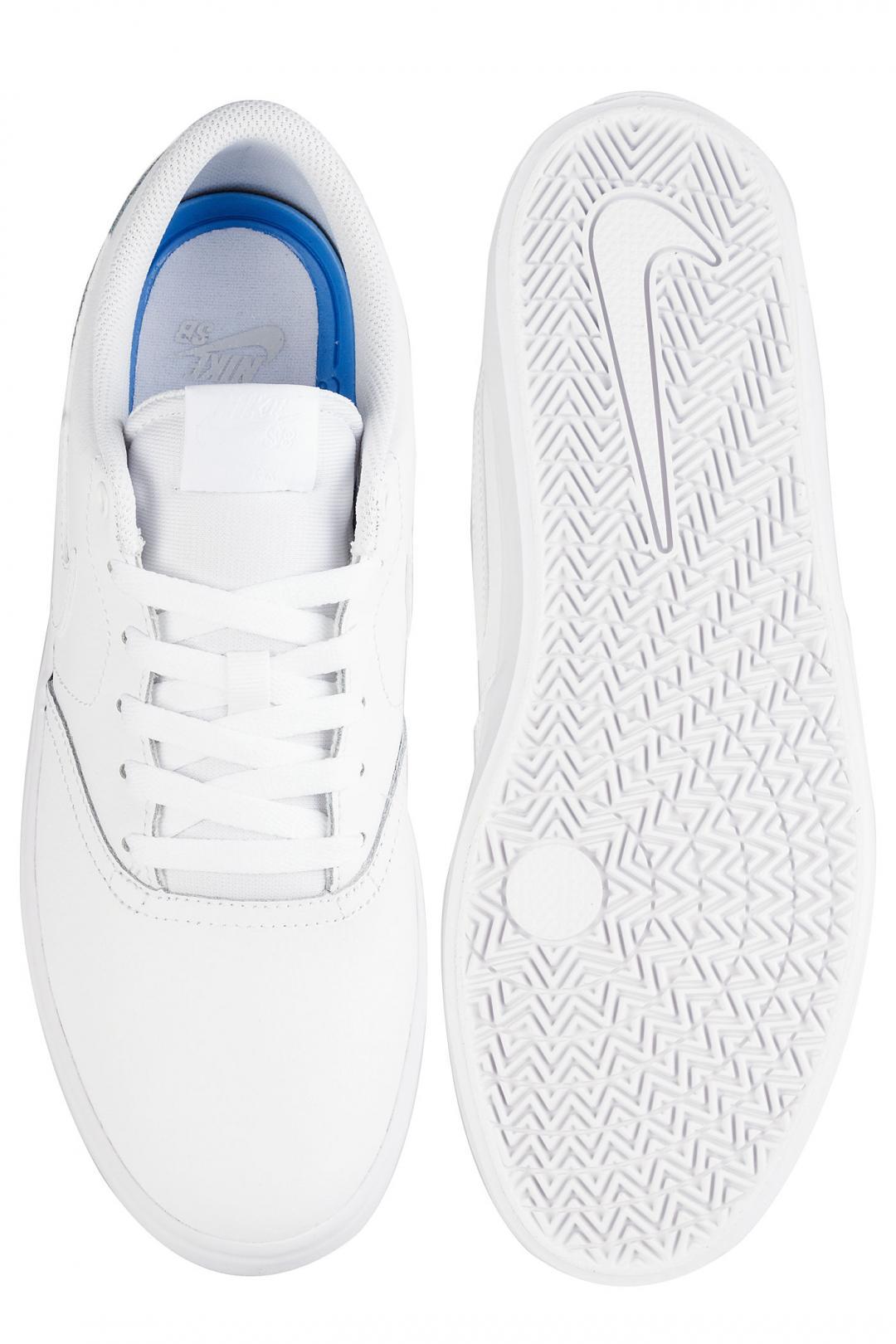 Uomo Nike SB Check Solarsoft white white   Sneaker