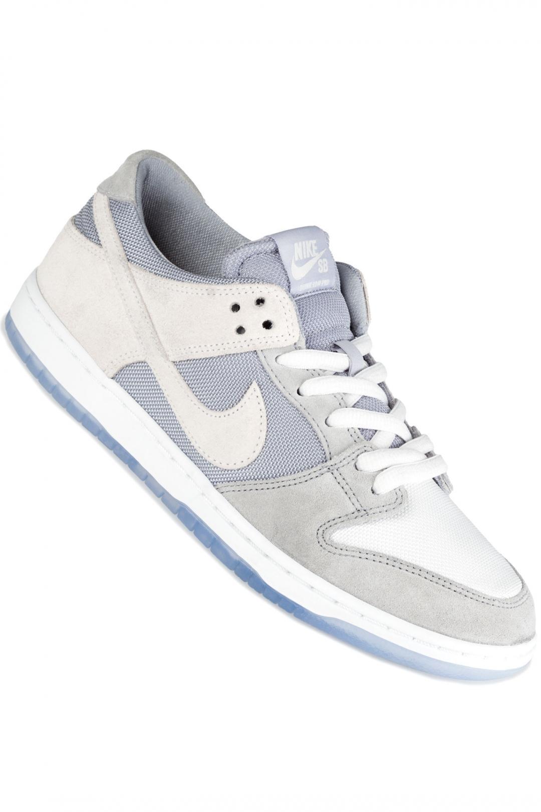 Uomo Nike SB Dunk Low Pro wolf grey summit white | Sneakers low top