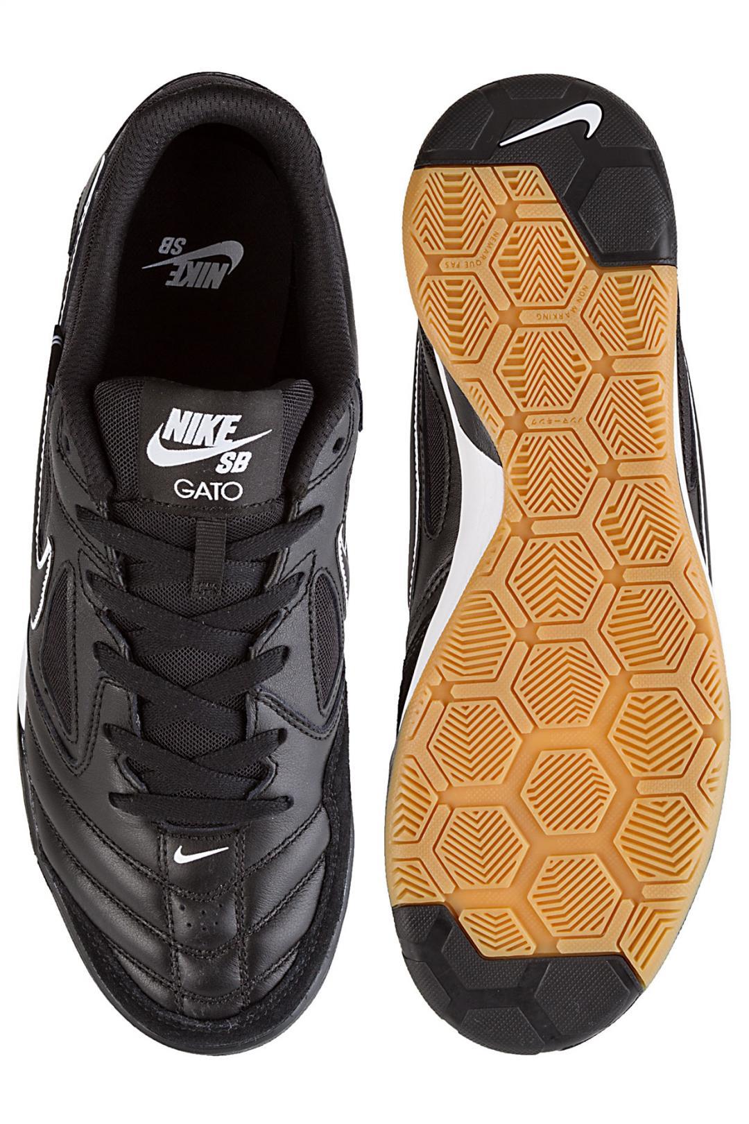 Uomo Nike SB Gato black black white   Sneaker
