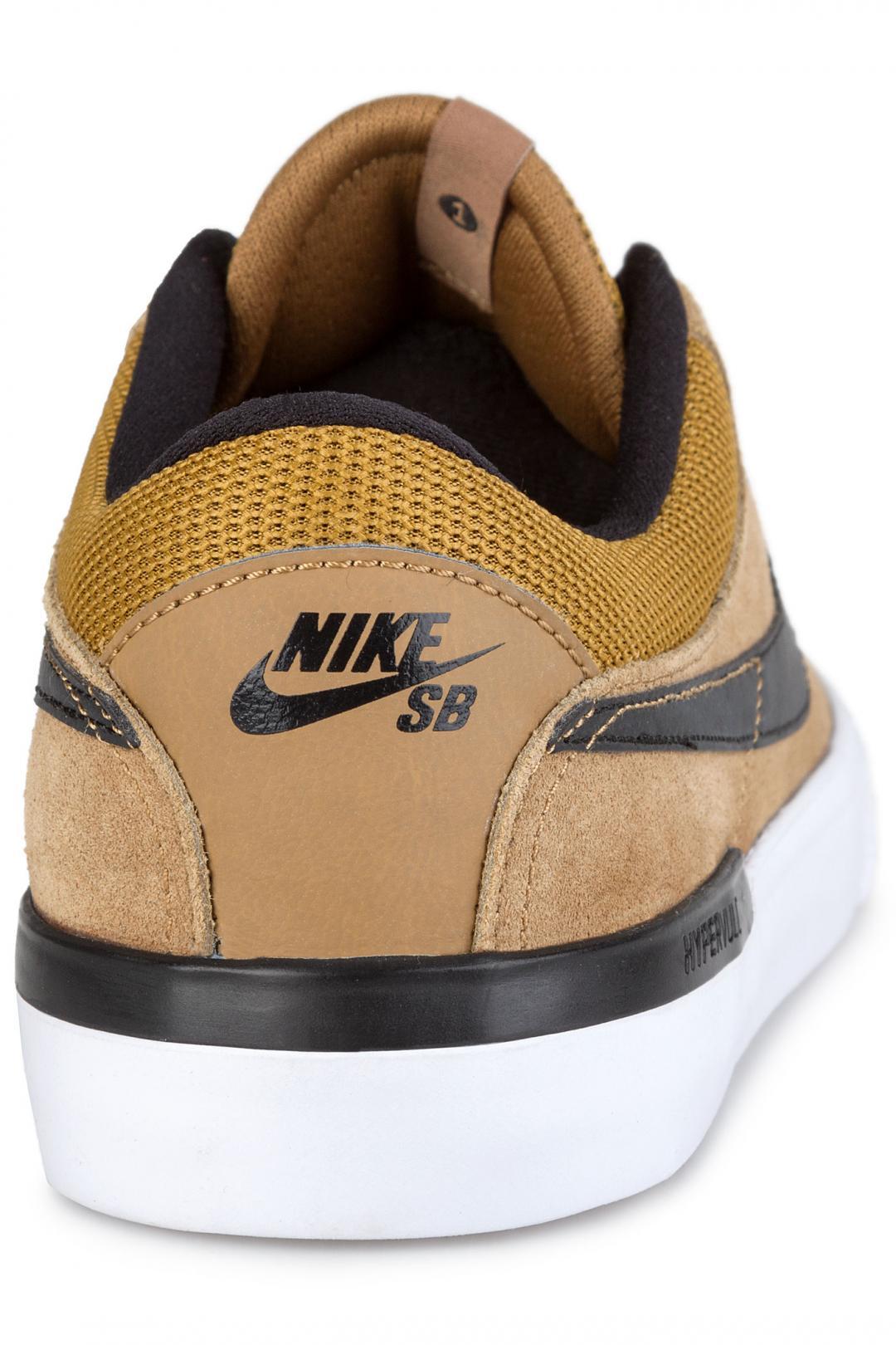 Uomo Nike SB Koston Hypervulc golden beige black | Sneakers low top