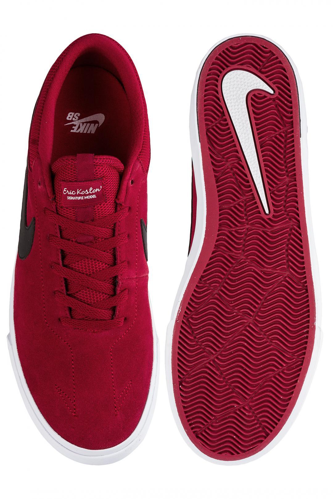 Uomo Nike SB Koston Hypervulc red crush black   Sneakers low top