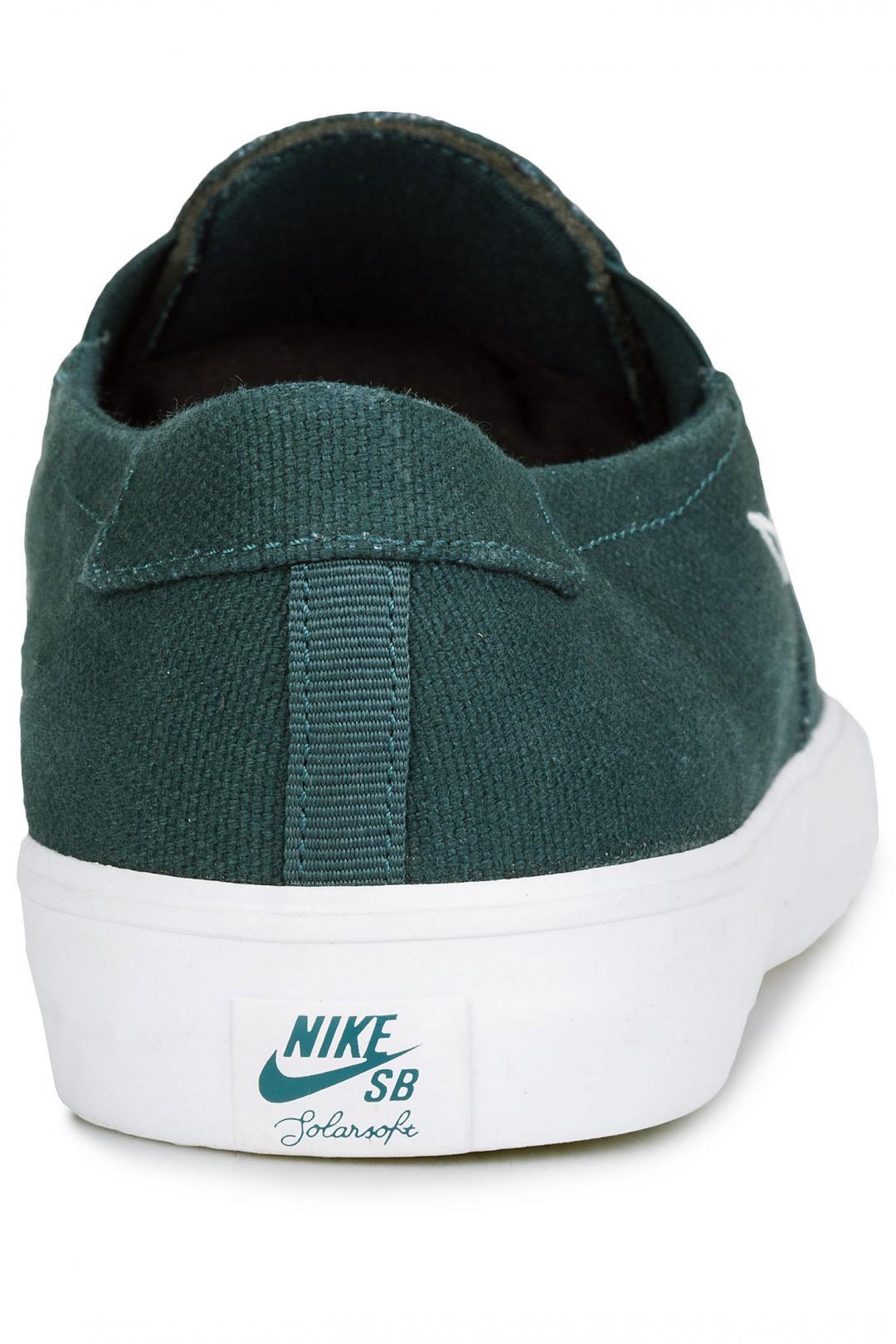 Uomo Nike SB Portmore II Solarsoft Slip deep jungle | Sneaker