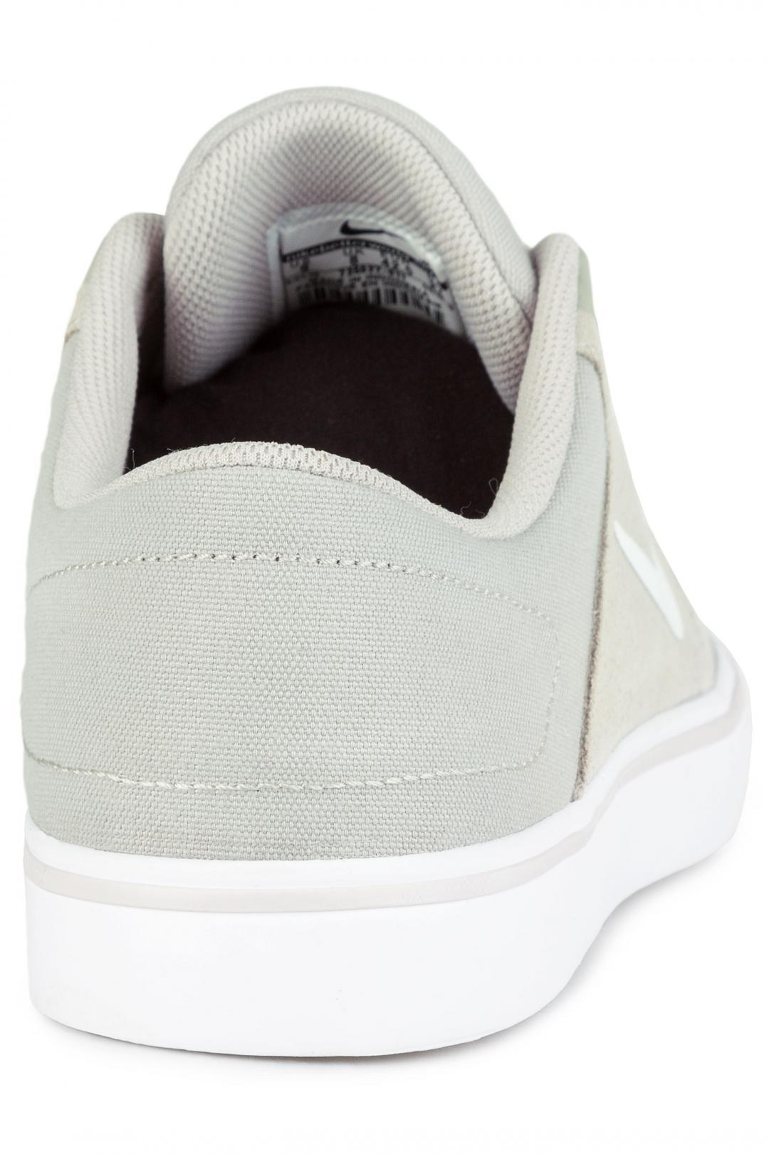 Uomo Nike SB Portmore pale grey white | Scarpe da skate