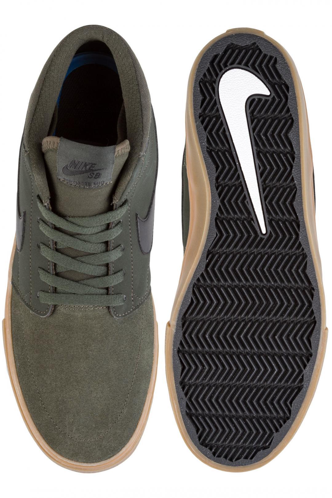 Uomo Nike SB Solarsoft Portmore II Mid sequoia black gum | Sneaker