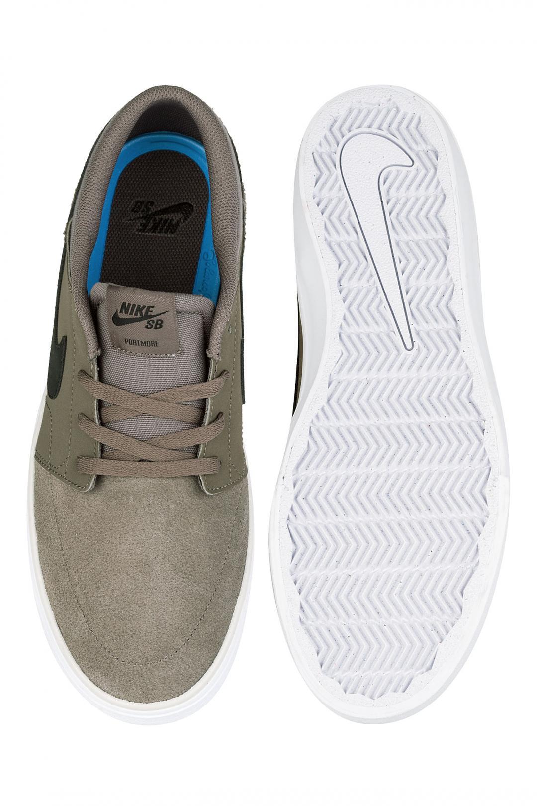 Uomo Nike SB Solarsoft Portmore II ridgerock black | Scarpe da skate