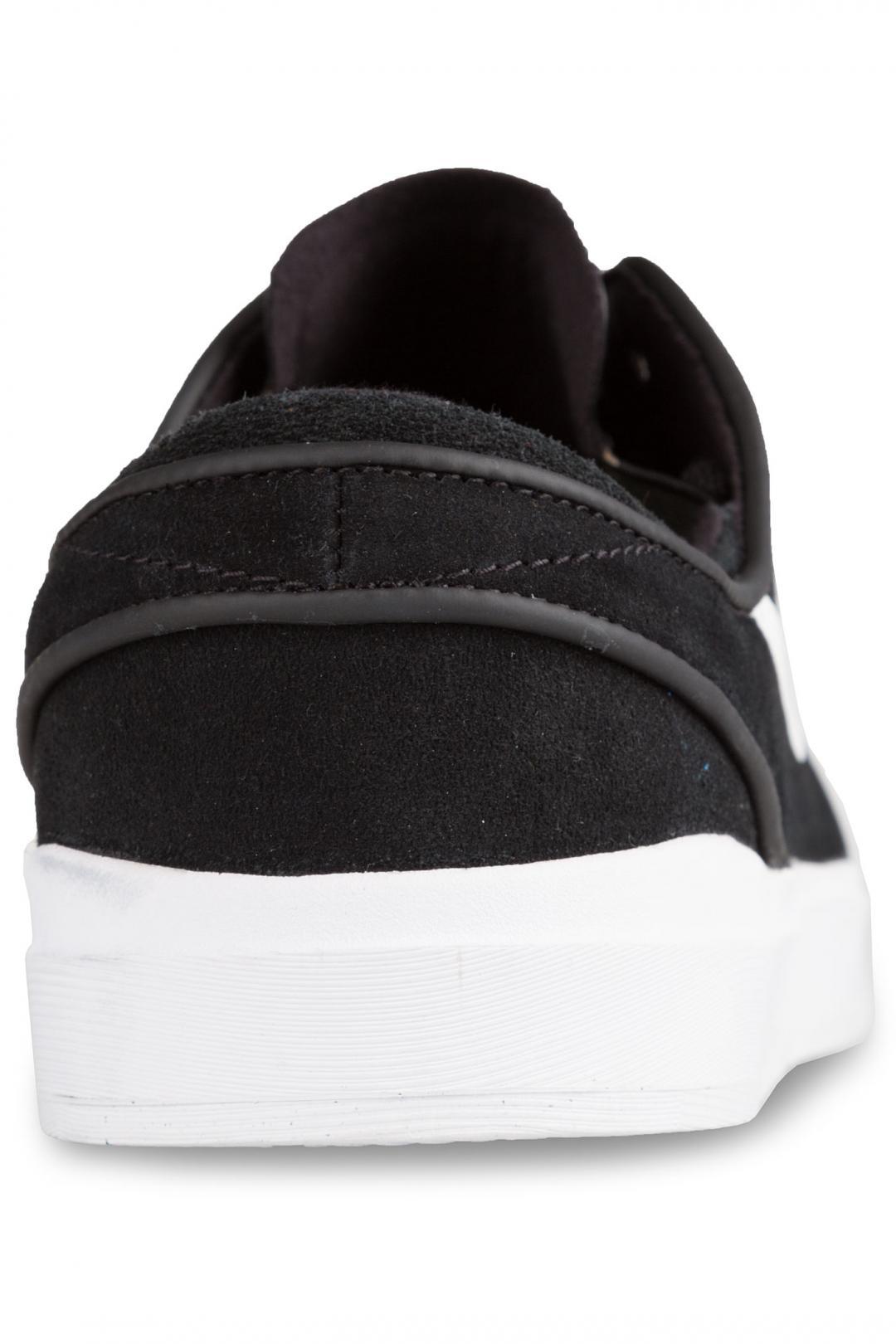 Uomo Nike SB Stefan Janoski Hyperfeel black white   Scarpe da skate