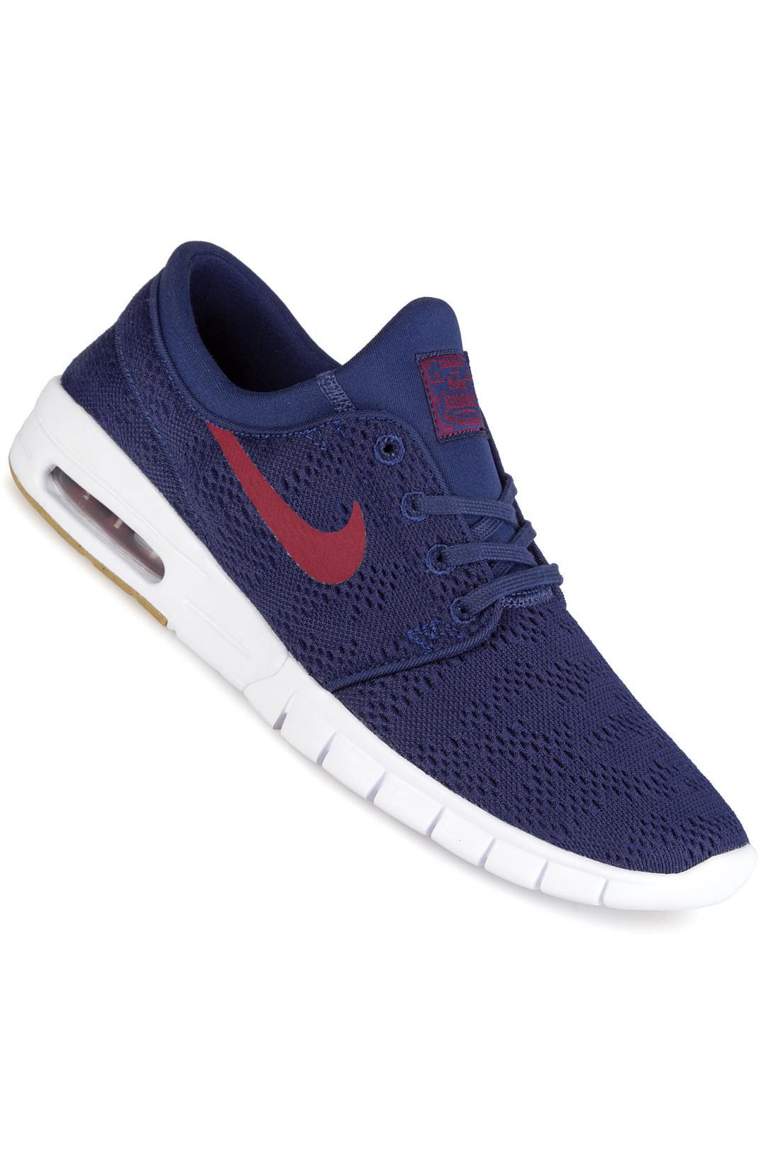 Uomo Nike SB Stefan Janoski Max binary blue team red | Sneakers low top