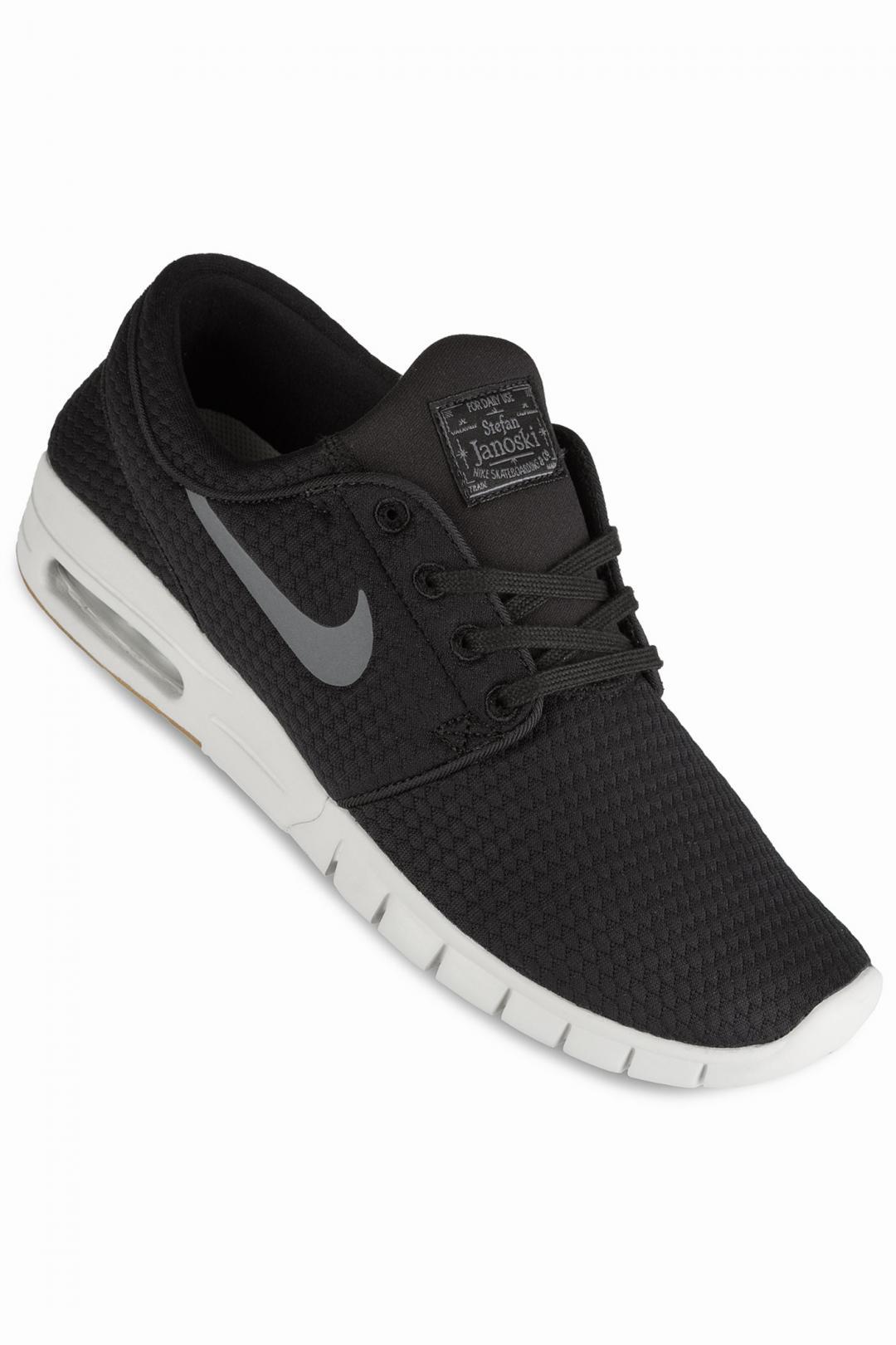 Uomo Nike SB Stefan Janoski Max black dark grey | Sneaker