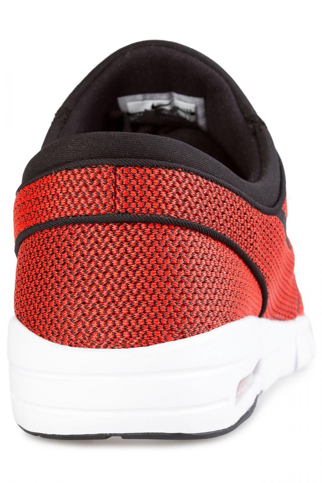 Uomo Nike SB Stefan Janoski Max black max orange   Sneakers low top
