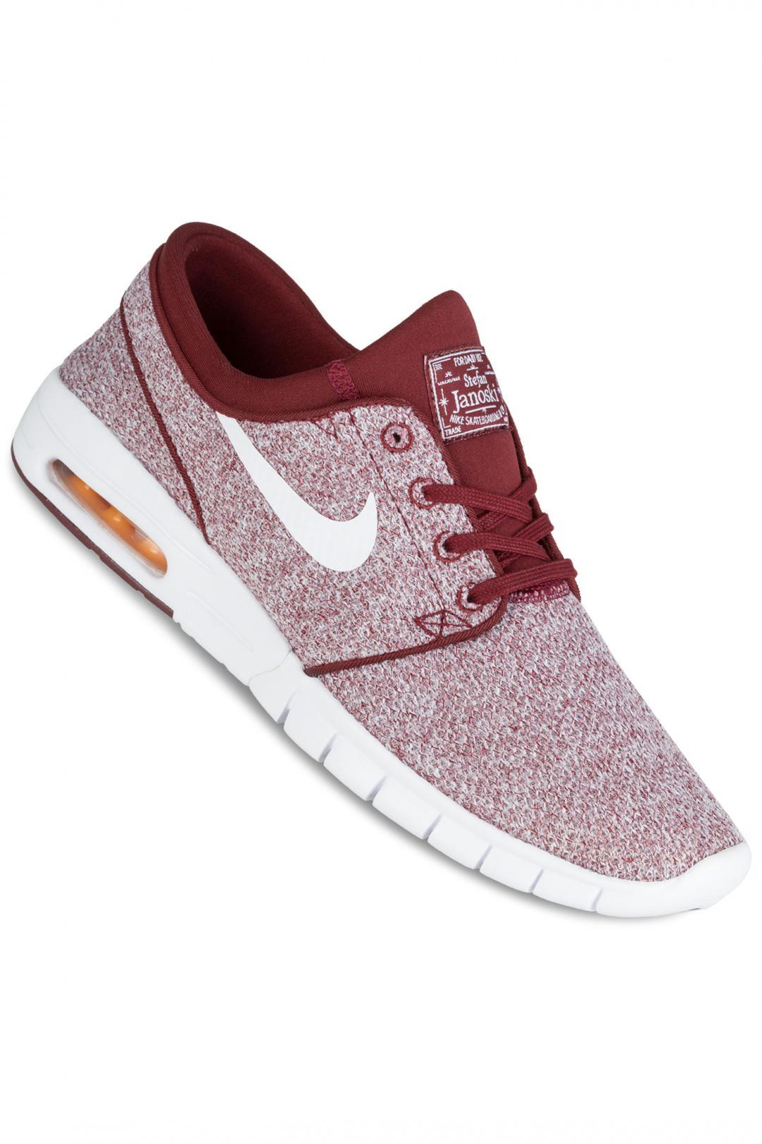 Uomo Nike SB Stefan Janoski Max dark team red white | Sneakers low top