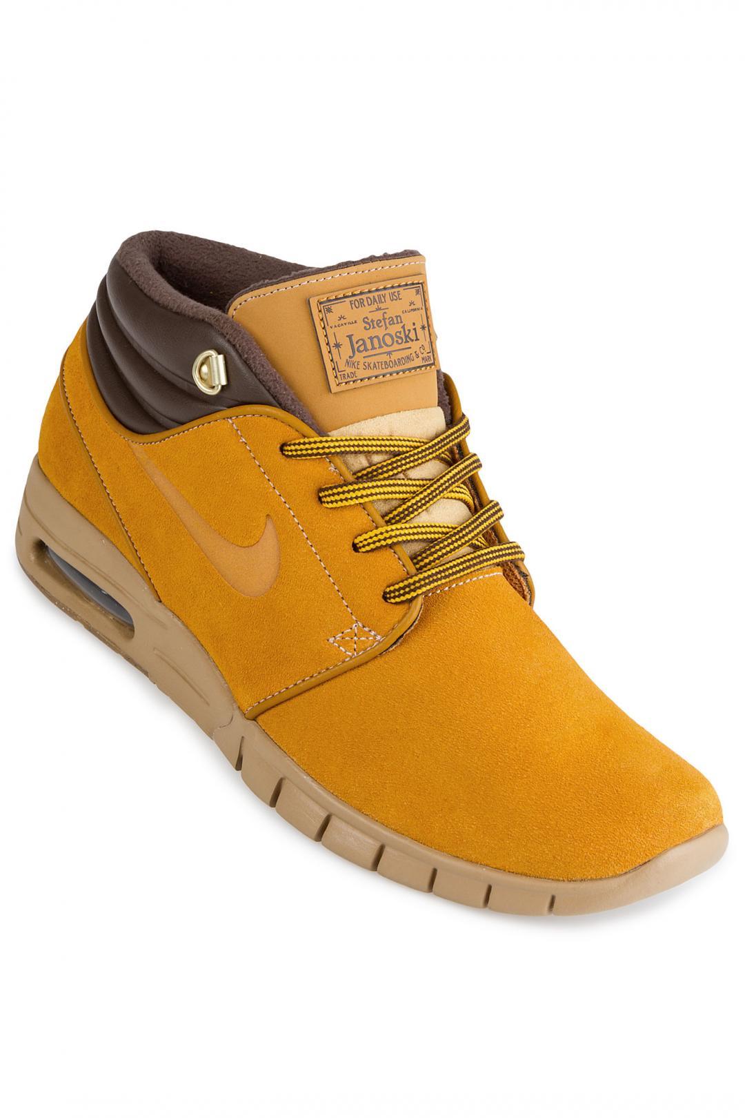 Uomo Nike SB Stefan Janoski Max Mid Premium bronze | Sneaker