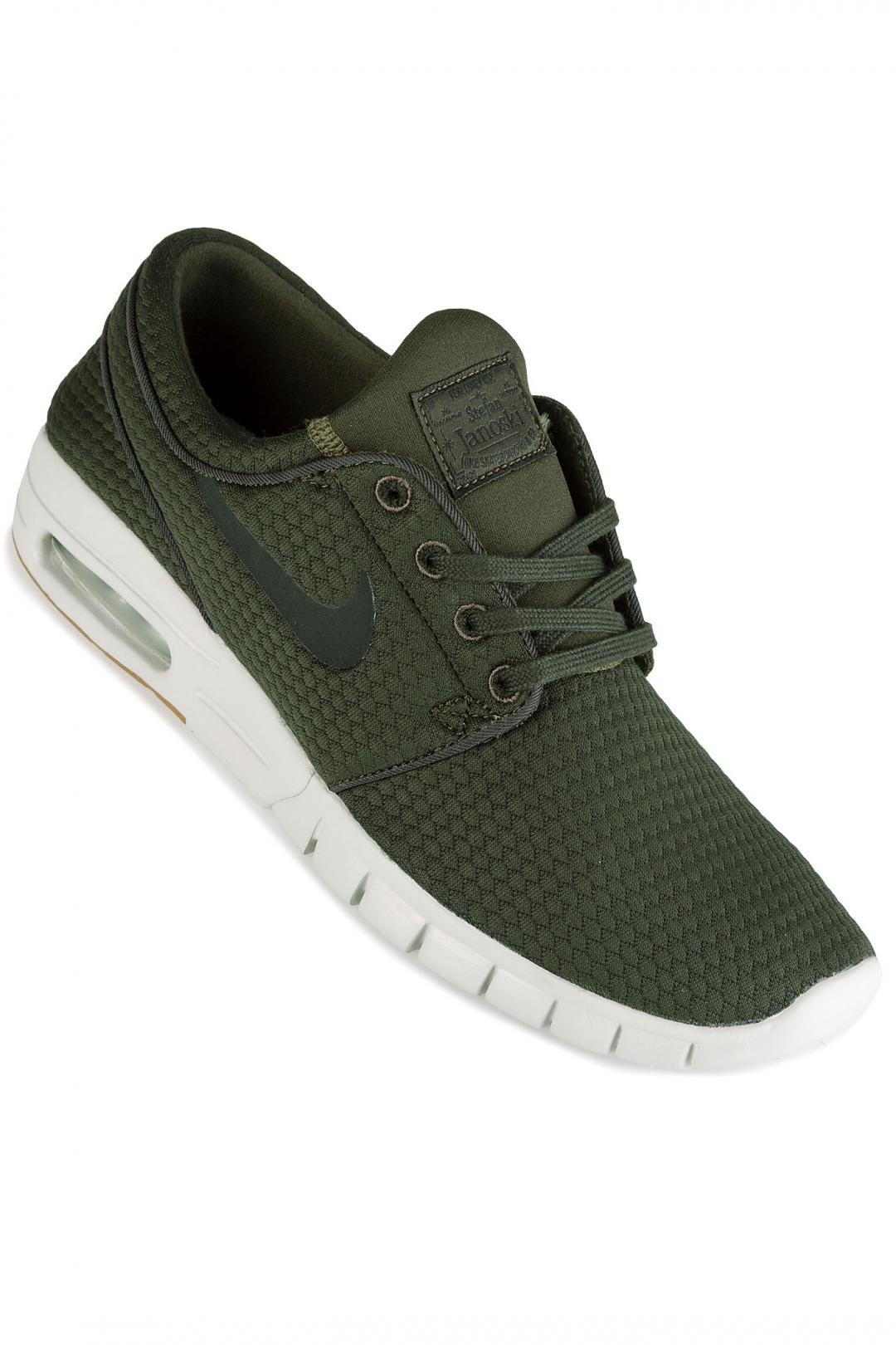 Uomo Nike SB Stefan Janoski Max sequoia black | Sneakers low top