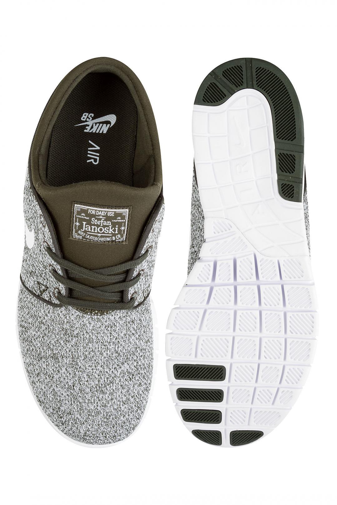 Uomo Nike SB Stefan Janoski Max sequoia white | Sneaker