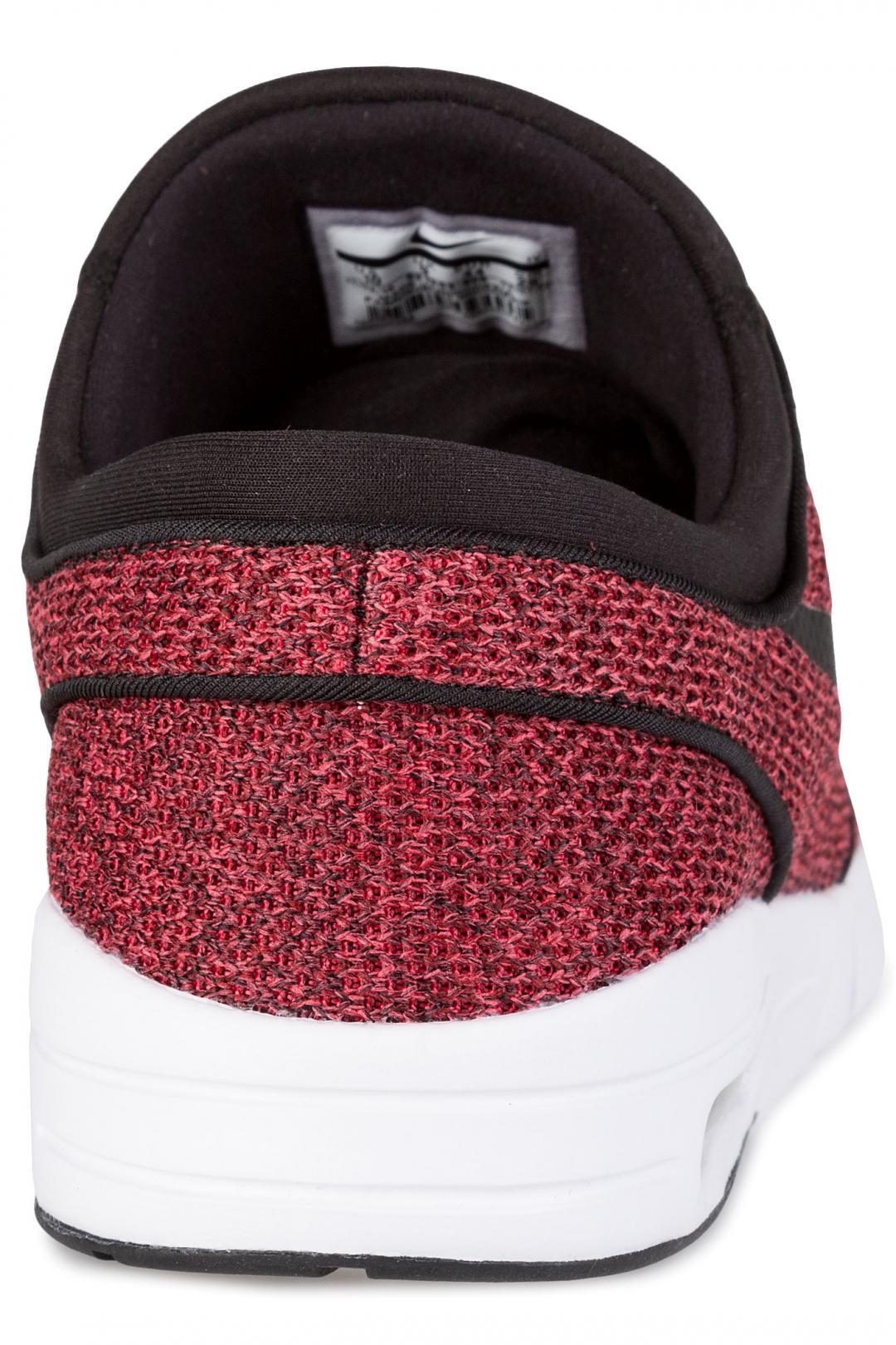 Uomo Nike SB Stefan Janoski Max track red black | Sneakers low top
