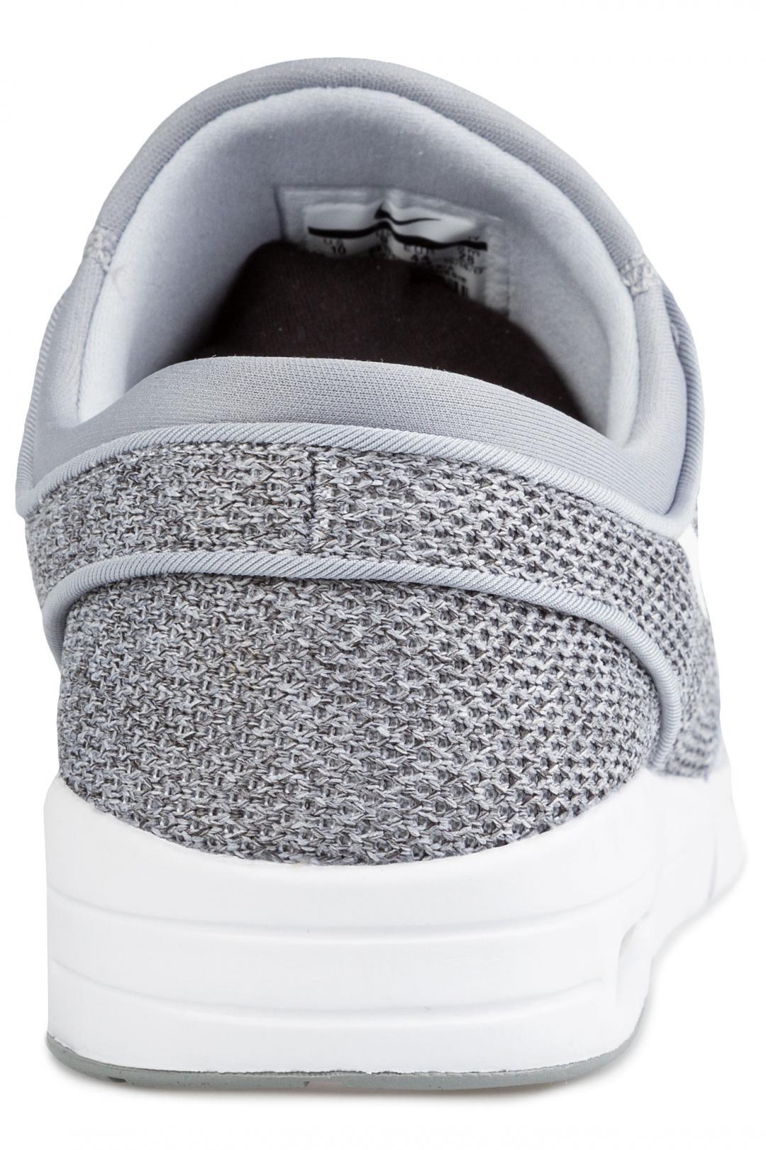 Uomo Nike SB Stefan Janoski Max wolf grey white | Sneakers low top