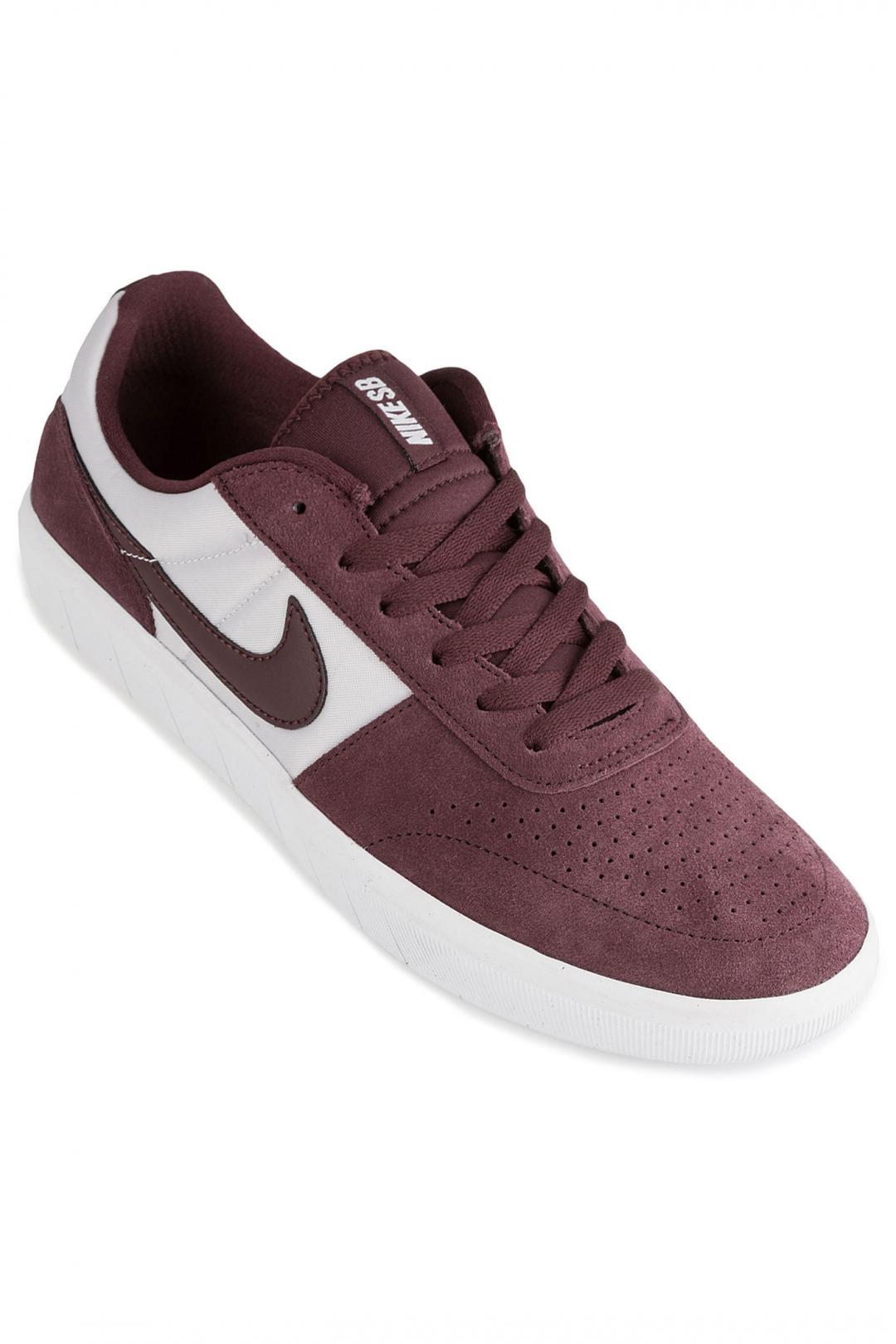 Uomo Nike SB Team Classic burgundy crush white   Sneakers low top