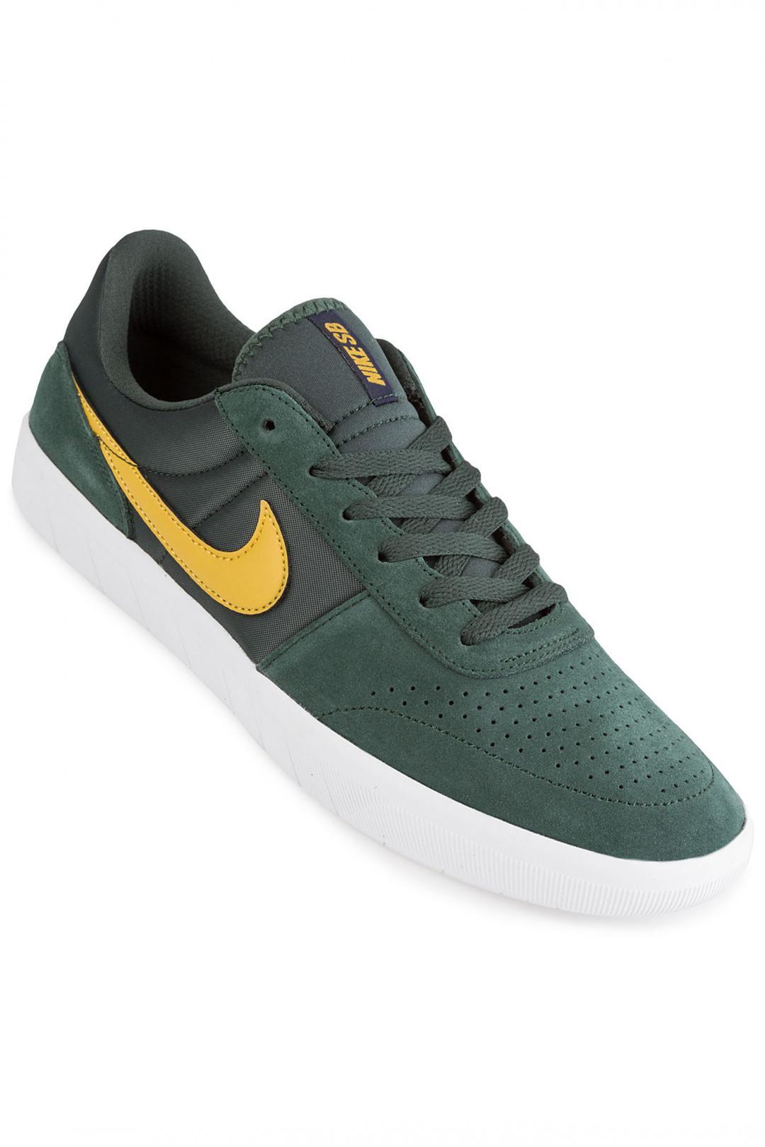 Uomo Nike SB Team Classic midnight green yellow ochre   Sneakers low top