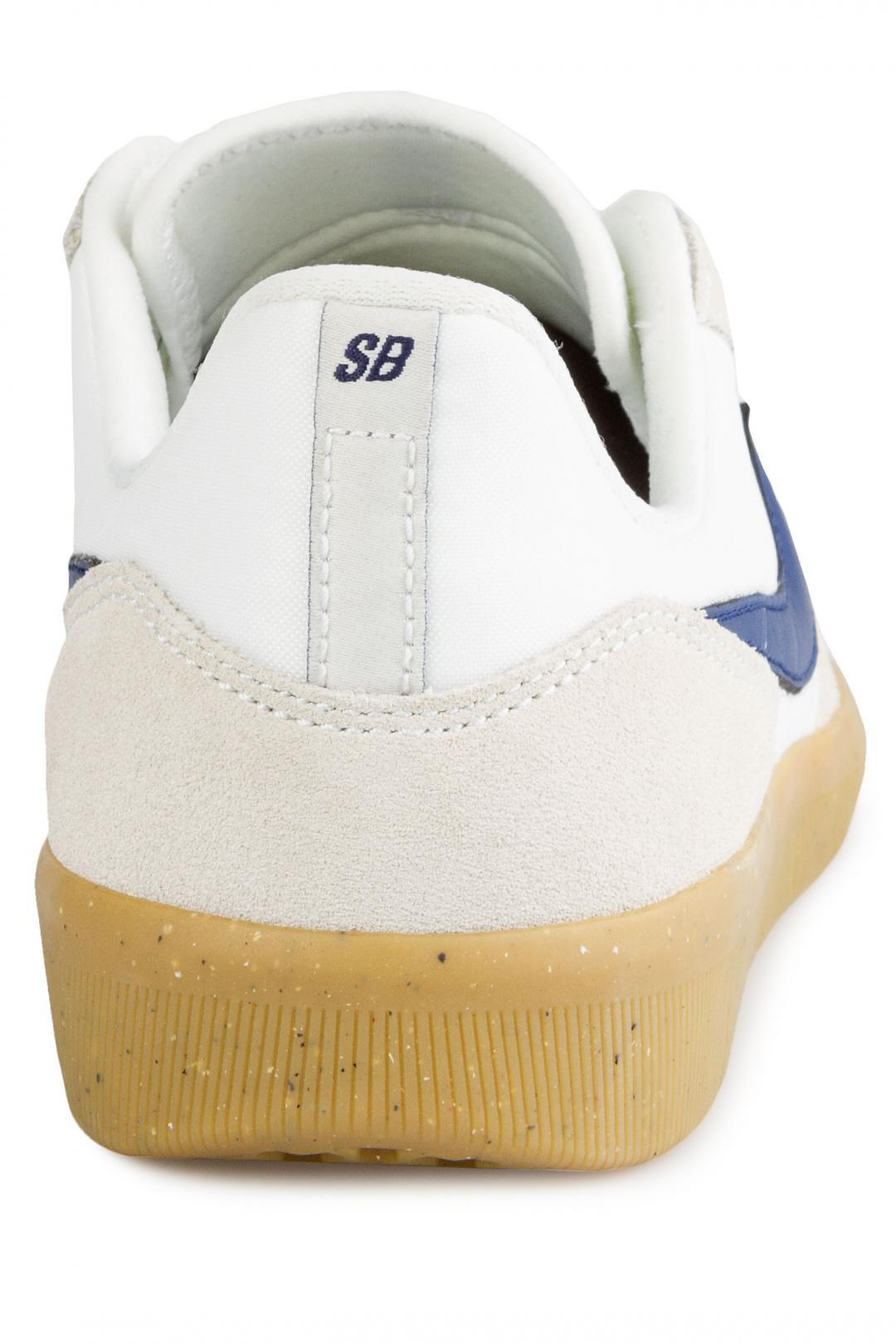 Uomo Nike SB Team Classic summit white blue void   Sneaker