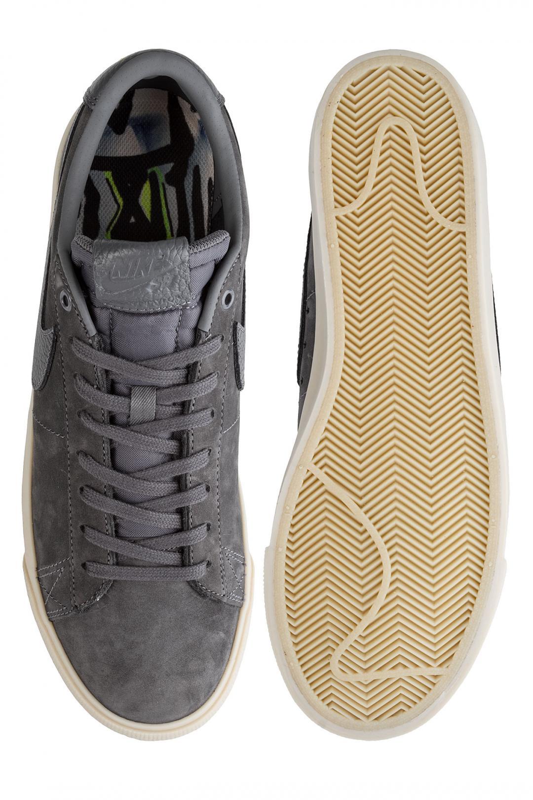 Uomo Nike SB x Anti Hero Blazer Low Grant Taylor QS dark grey | Sneakers low top