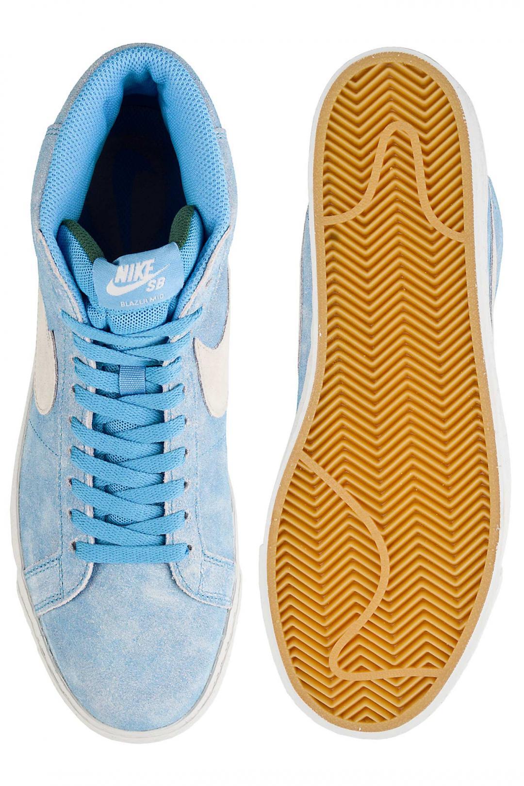 Uomo Nike SB x Lance Mountain Zoom Blazer Mid university blue light bone | Sneakers mid top