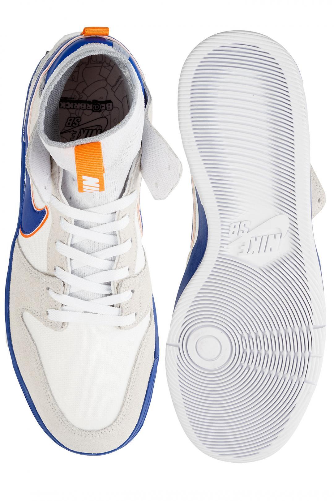 Uomo Nike SB x Medicom Dunk High Elite QS white college blue | Sneakers high top