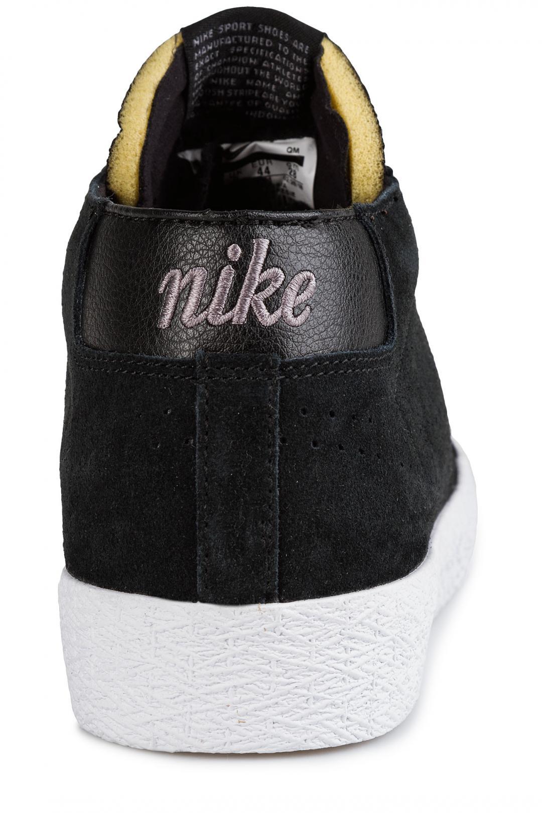 Uomo Nike SB Zoom Blazer Chukka XT black black gunsmoke | Sneakers mid top