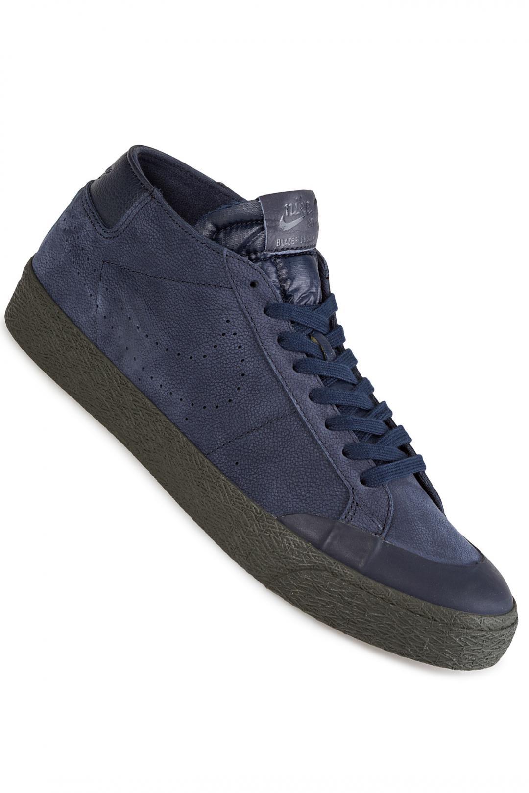 Uomo Nike SB Zoom Blazer Chukka XT Premium obsidian | Sneakers mid top