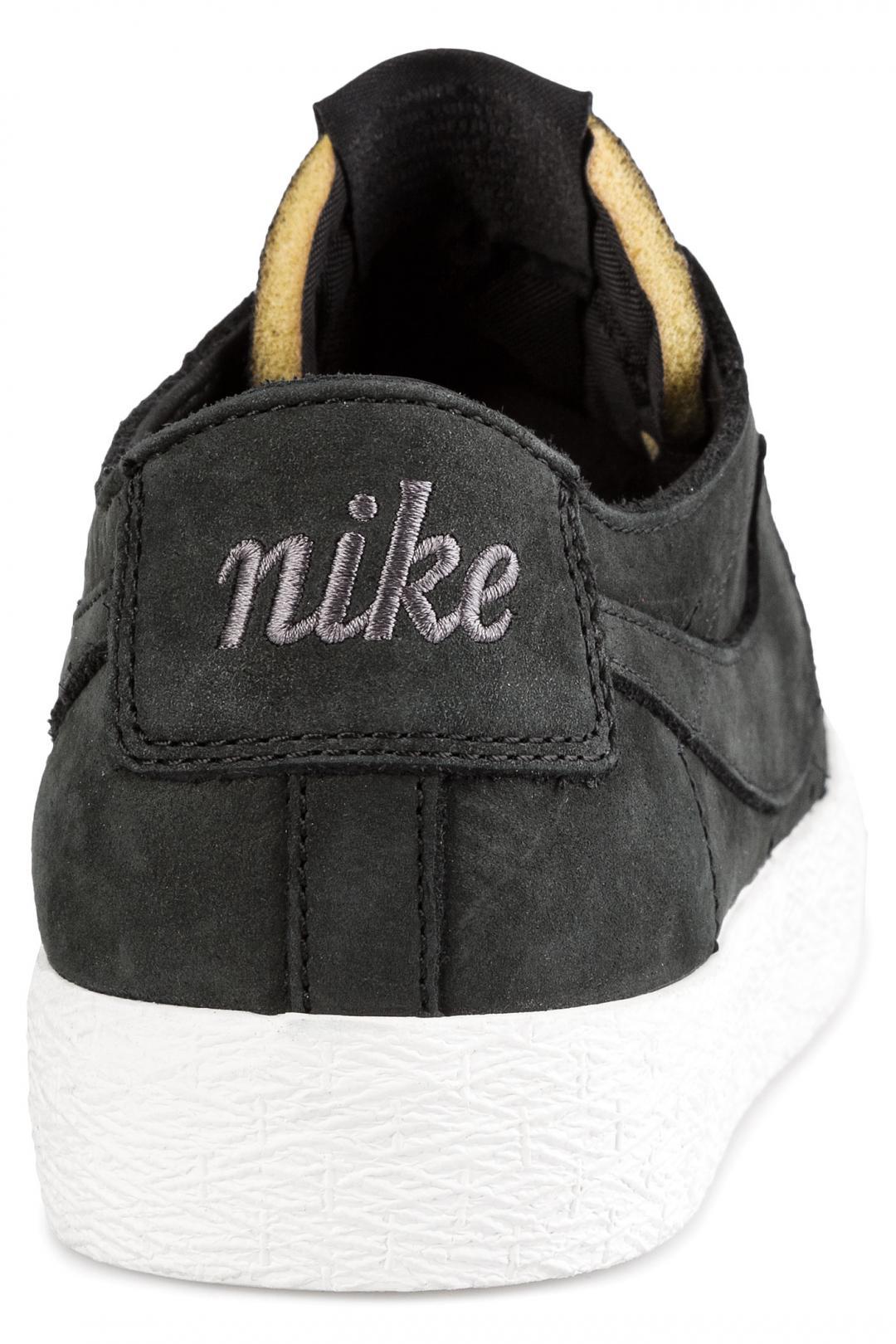 Uomo Nike SB Zoom Blazer Low Deconstructed black anthracite | Sneakers low top