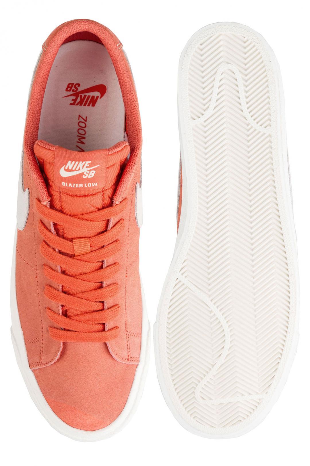 Uomo Nike SB Zoom Blazer Low vintage coral fossil sail | Sneakers low top