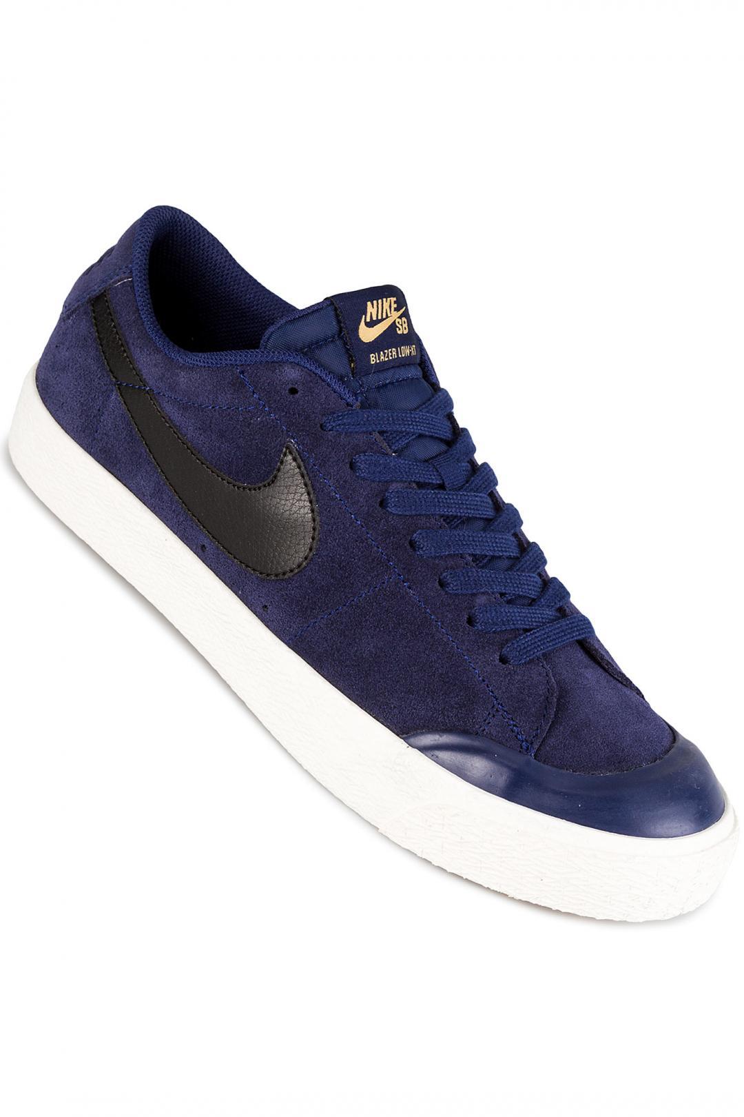 Uomo Nike SB Zoom Blazer Low XT binary blue black | Scarpe da skate