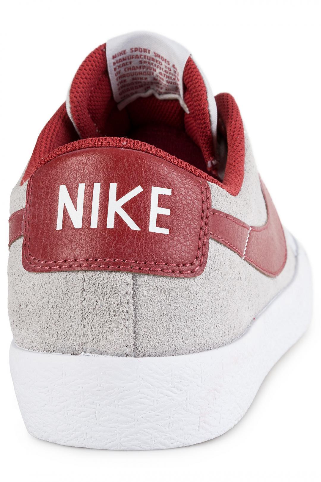 Uomo Nike SB Zoom Blazer Low XT pure platinum cedar | Scarpe da skate