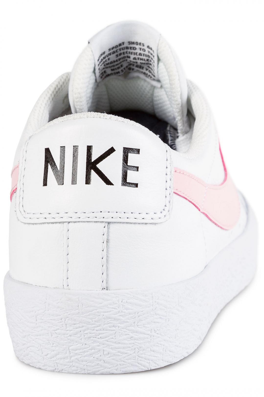 Uomo Nike SB Zoom Blazer Low XT white prism pink   Sneakers low top
