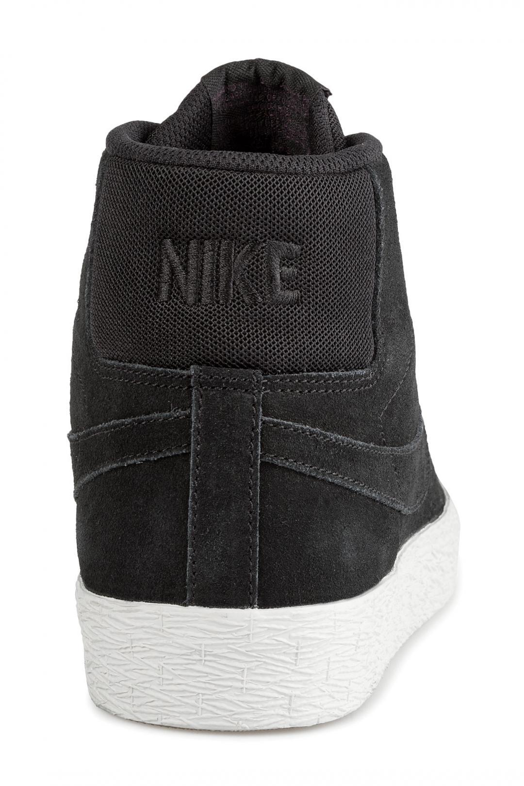 Uomo Nike SB Zoom Blazer Mid Deconstructed black pro purple   Scarpe da skate