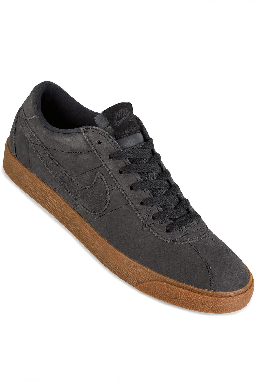 Uomo Nike SB Zoom Bruin anthracite black | Sneakers low top