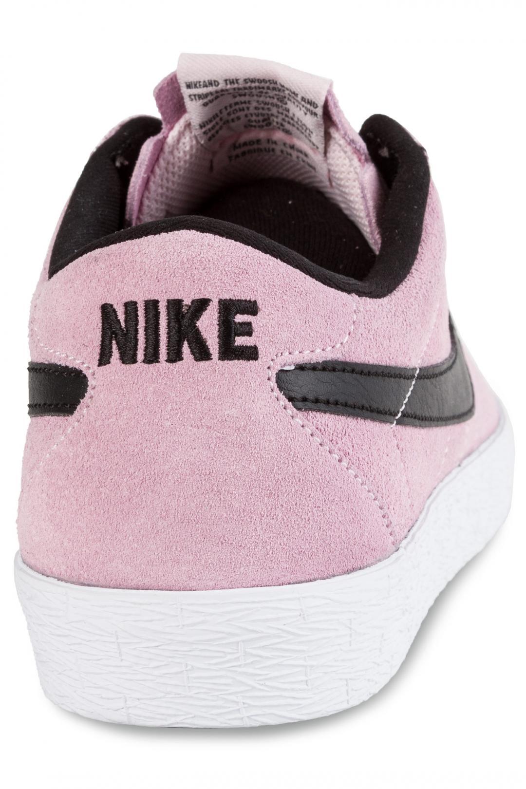 Uomo Nike SB Zoom Bruin Premium SE prism pink black | Sneakers low top