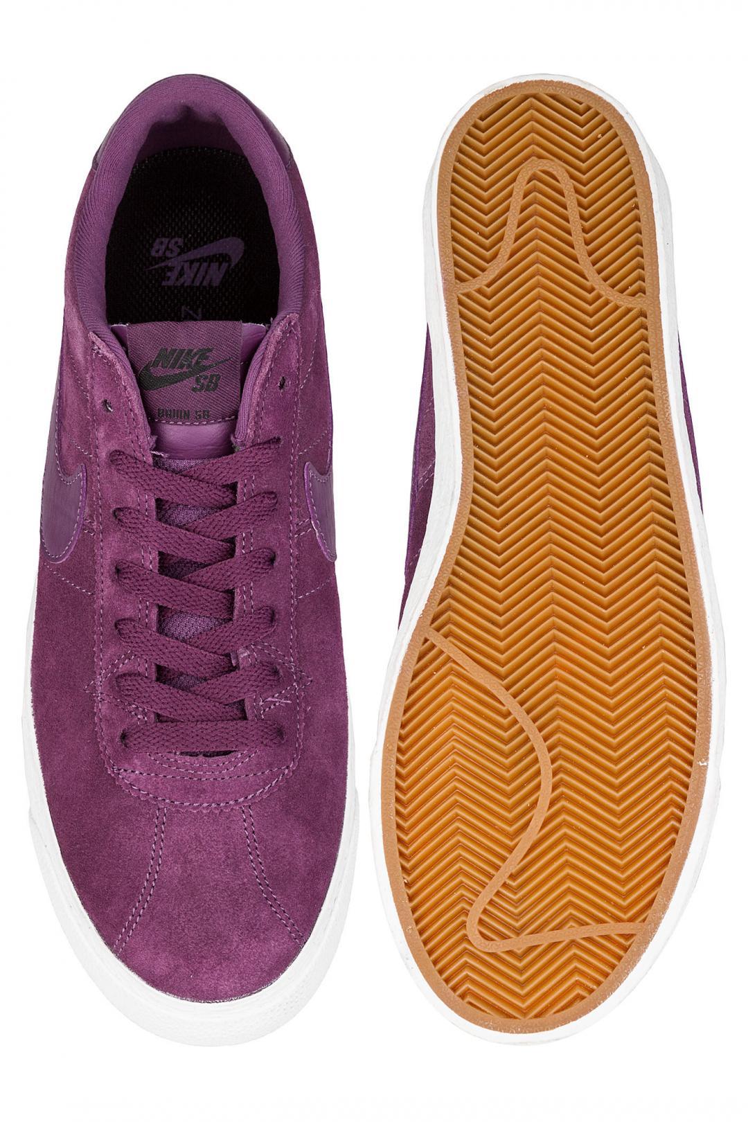 Uomo Nike SB Zoom Bruin pro purple summit white | Sneakers low top